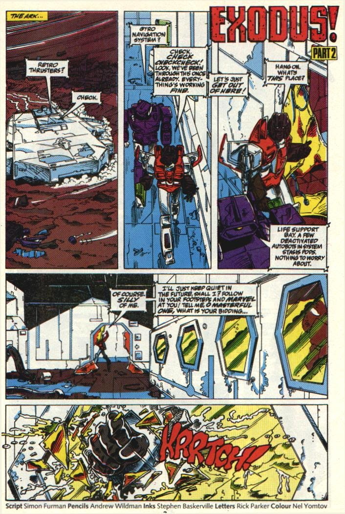 The Transformers (UK) 326 Page 2