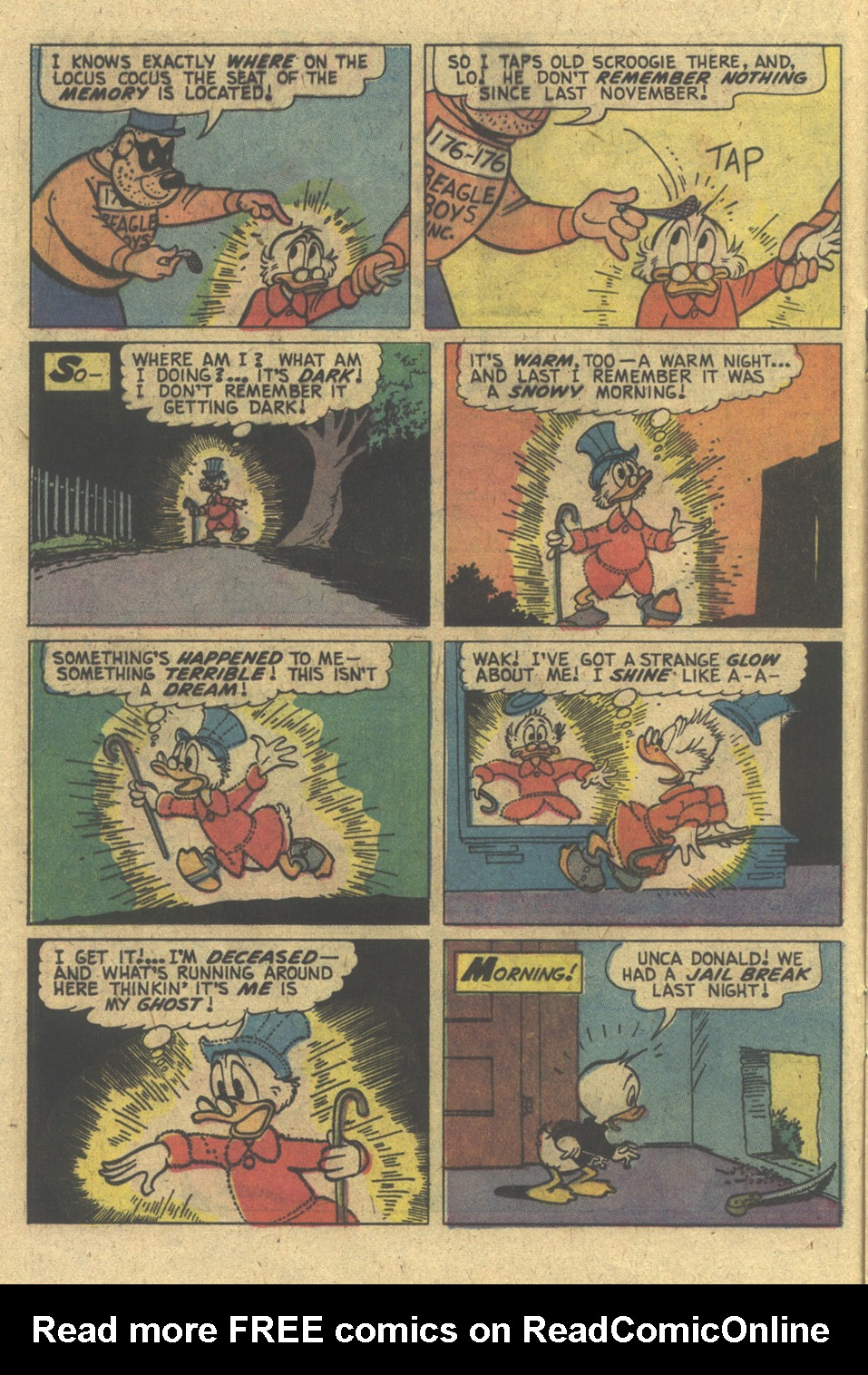 Read online Uncle Scrooge (1953) comic -  Issue #129 - 16