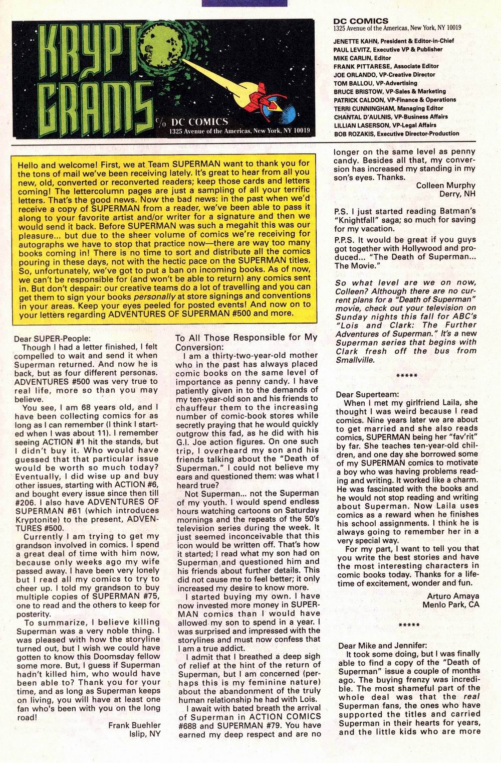Read online Adventures of Superman (1987) comic -  Issue #504 - 24