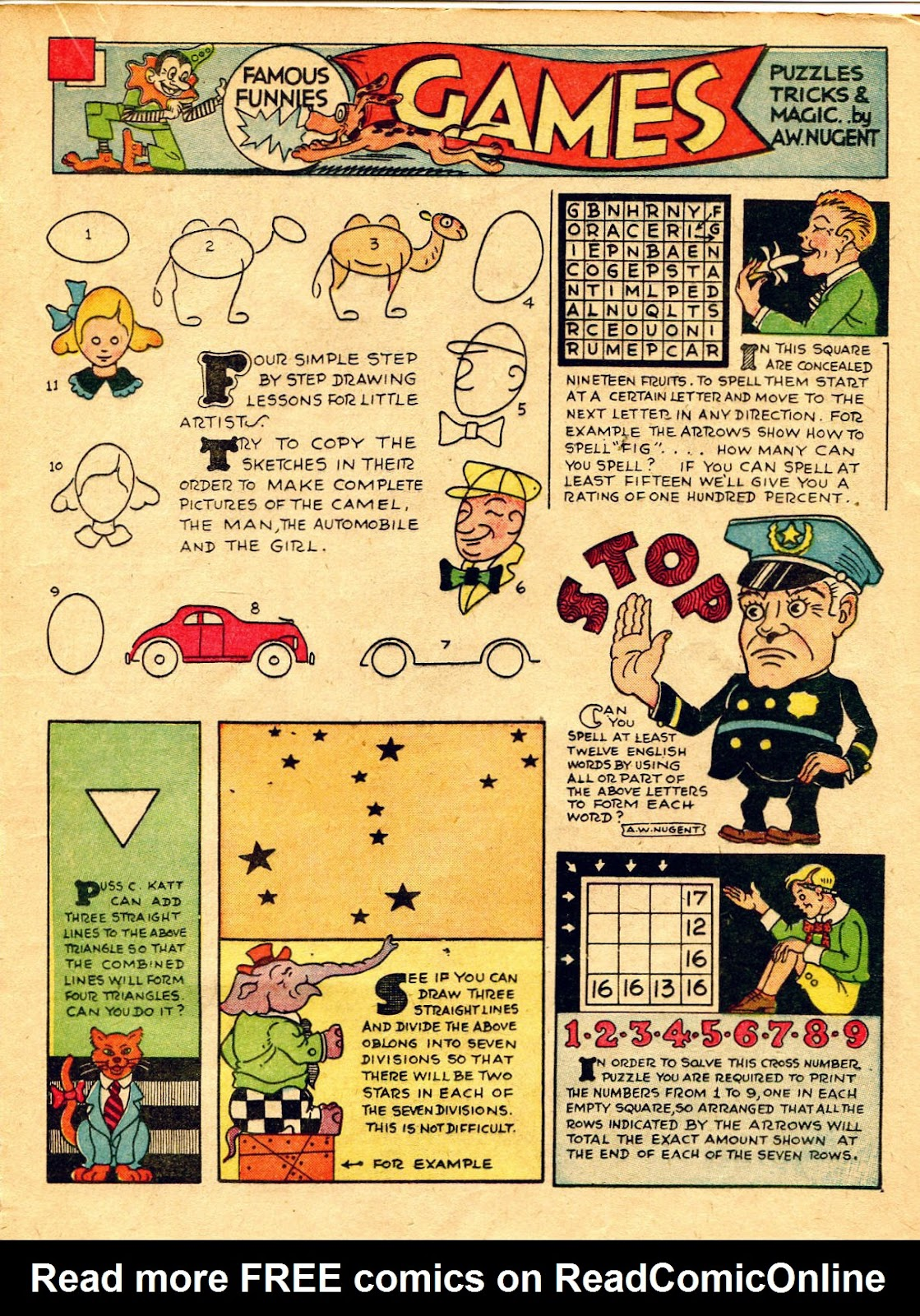 Read online Famous Funnies comic -  Issue #62 - 34