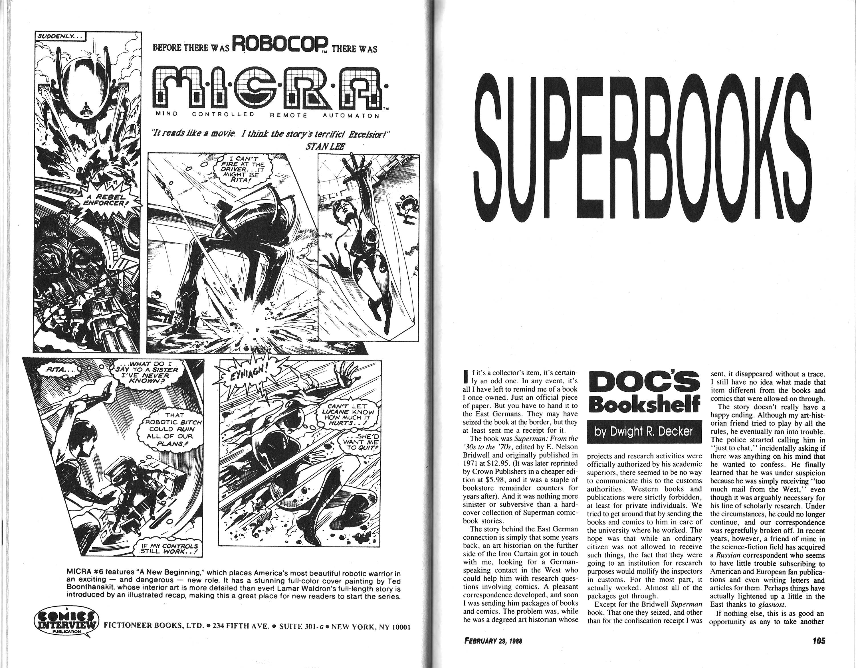 Read online Amazing Heroes comic -  Issue #136 - 53