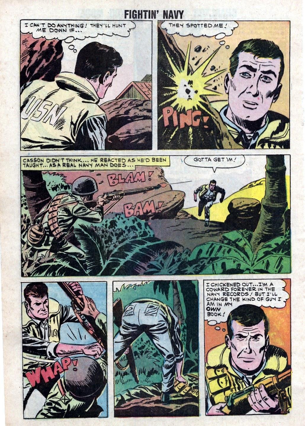 Read online Fightin' Navy comic -  Issue #94 - 20