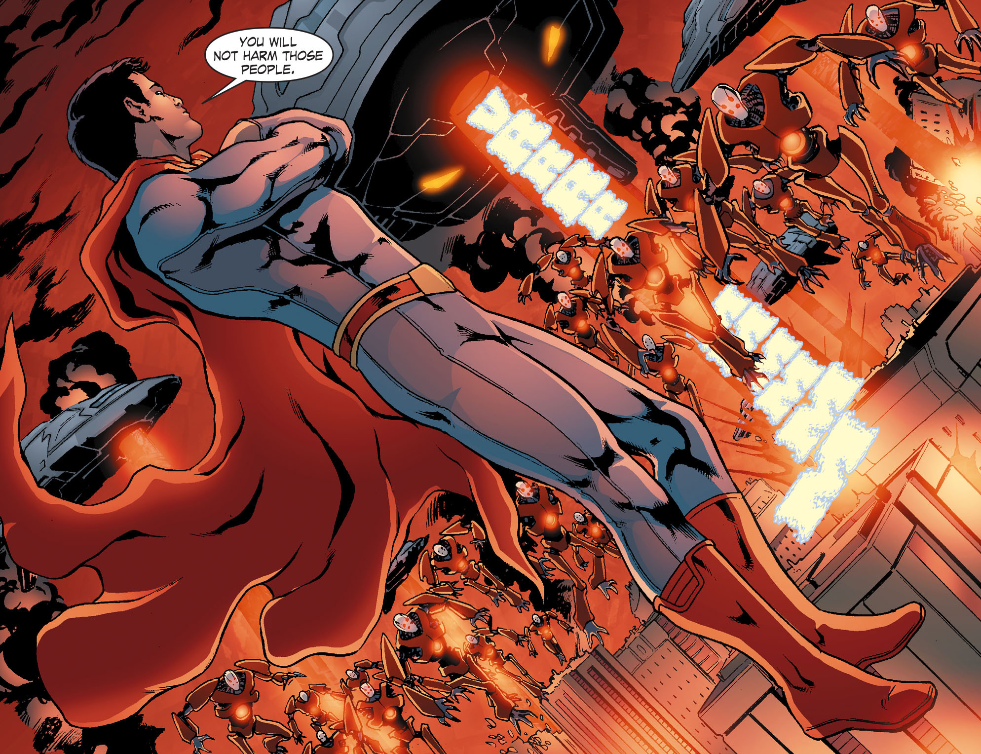 Read online Smallville: Chaos [II] comic -  Issue #4 - 12