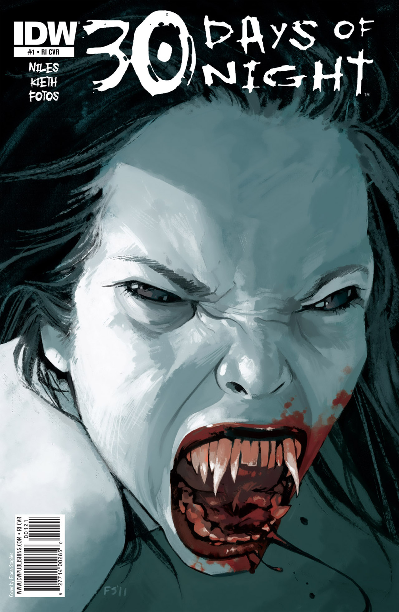 Read online 30 Days of Night (2011) comic -  Issue #1 - 3