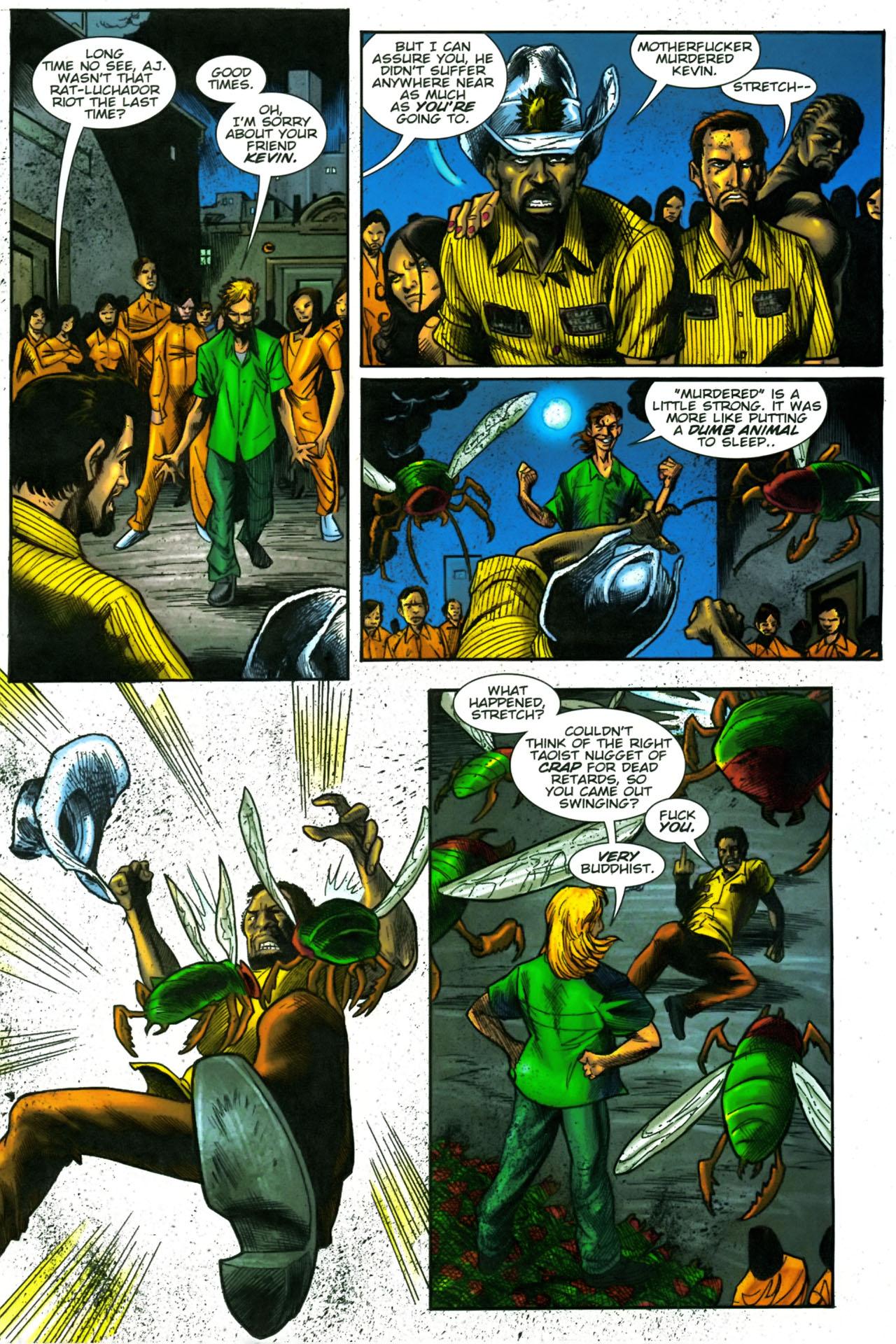 Read online The Exterminators comic -  Issue #23 - 12