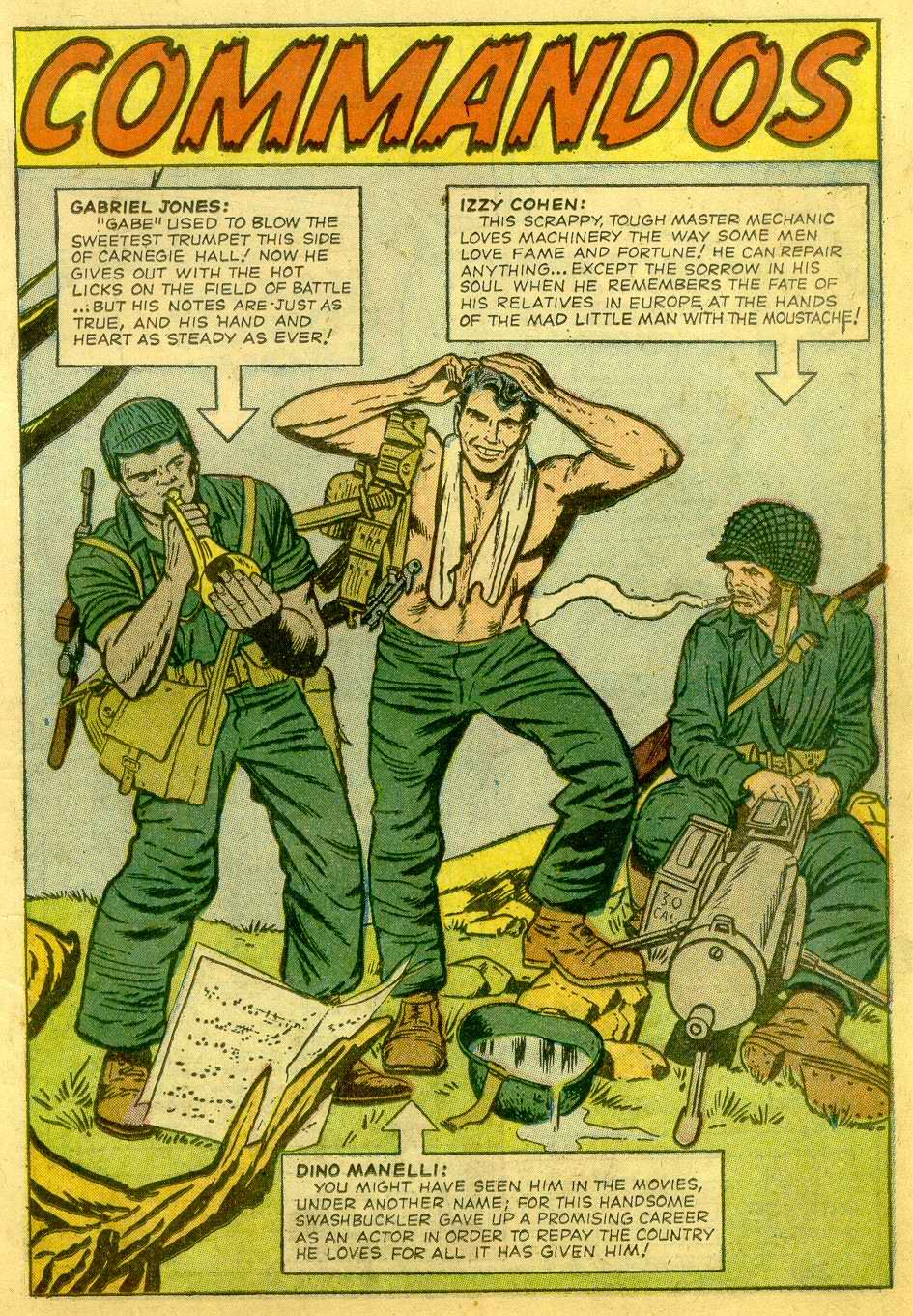Read online Sgt. Fury comic -  Issue # _Annual 1 - 21