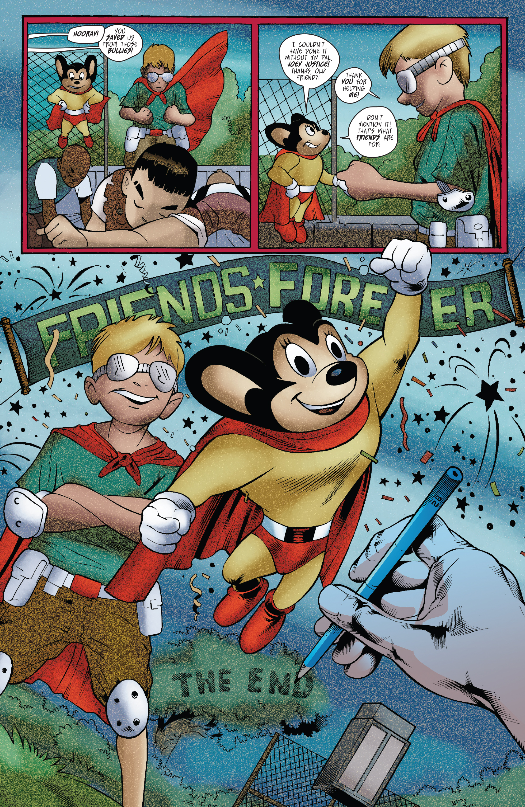 Read online Mighty Mouse (2017) comic -  Issue #1 - 22
