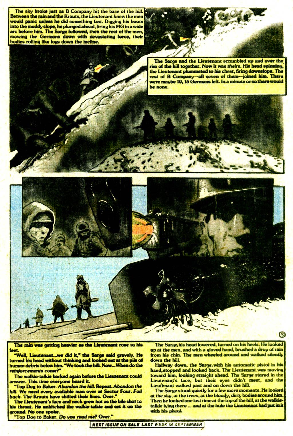 Read online Sgt. Rock comic -  Issue #334 - 32