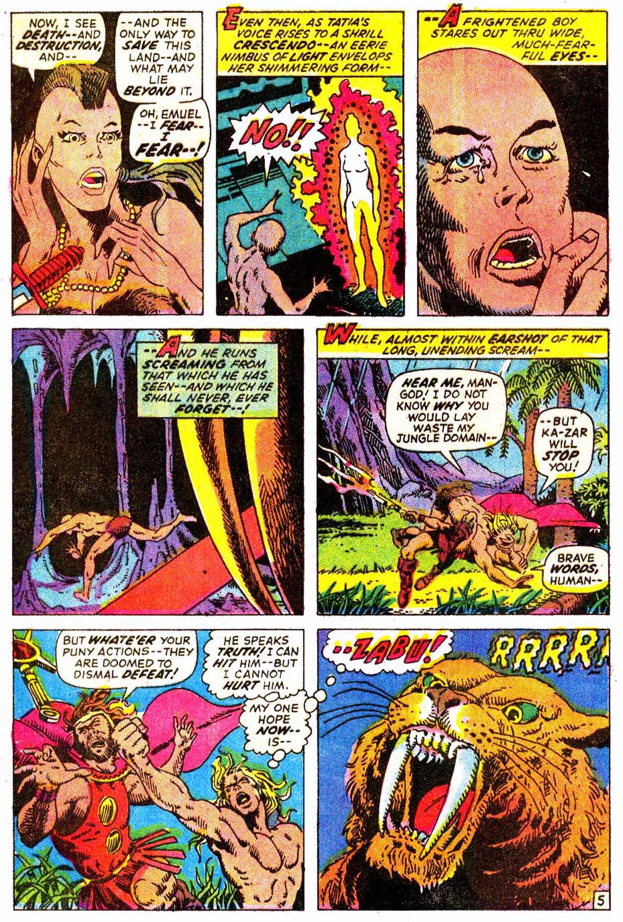 Read online Astonishing Tales (1970) comic -  Issue #7 - 16