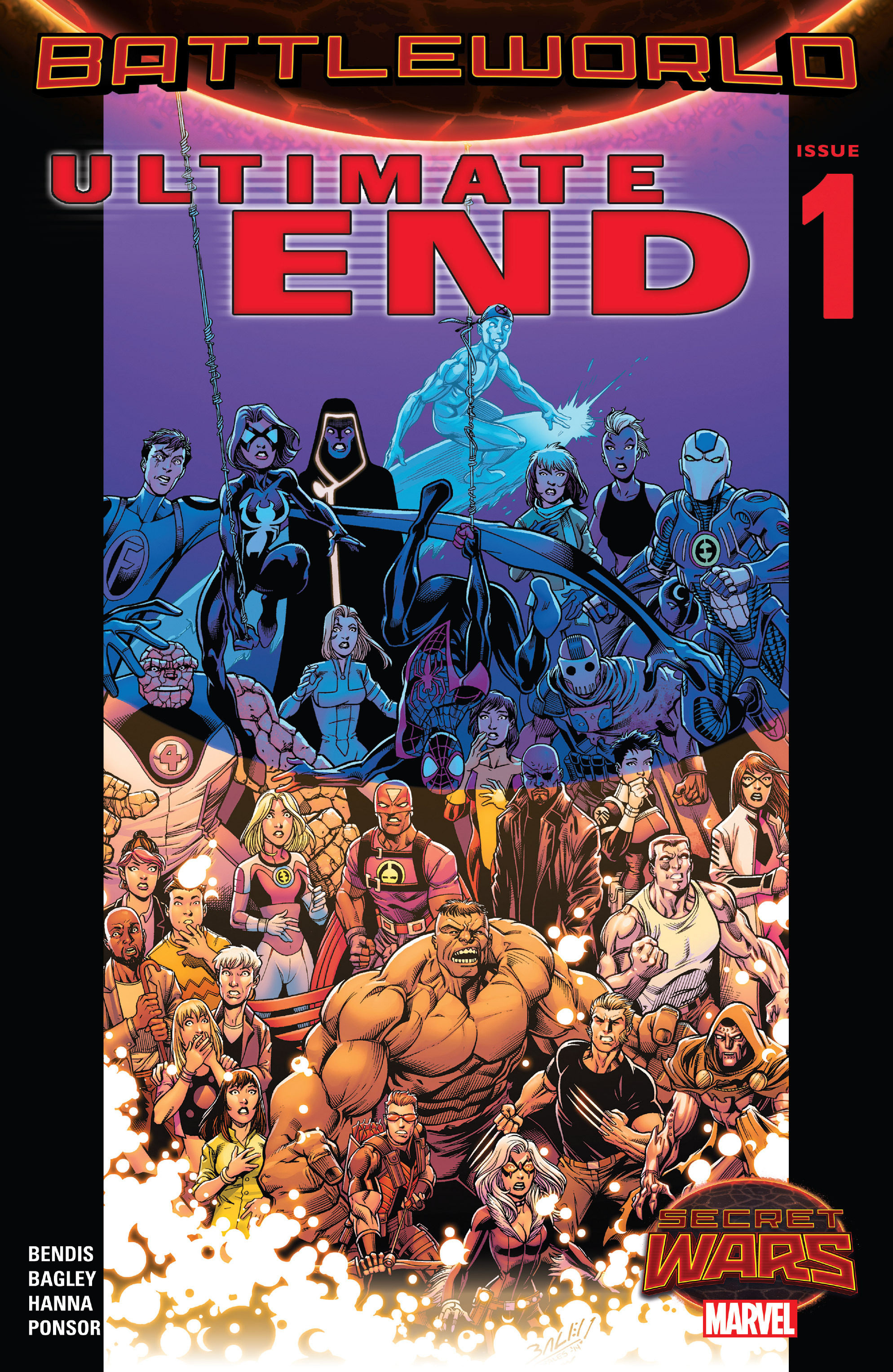 Read online Ultimate End comic -  Issue #1 - 1