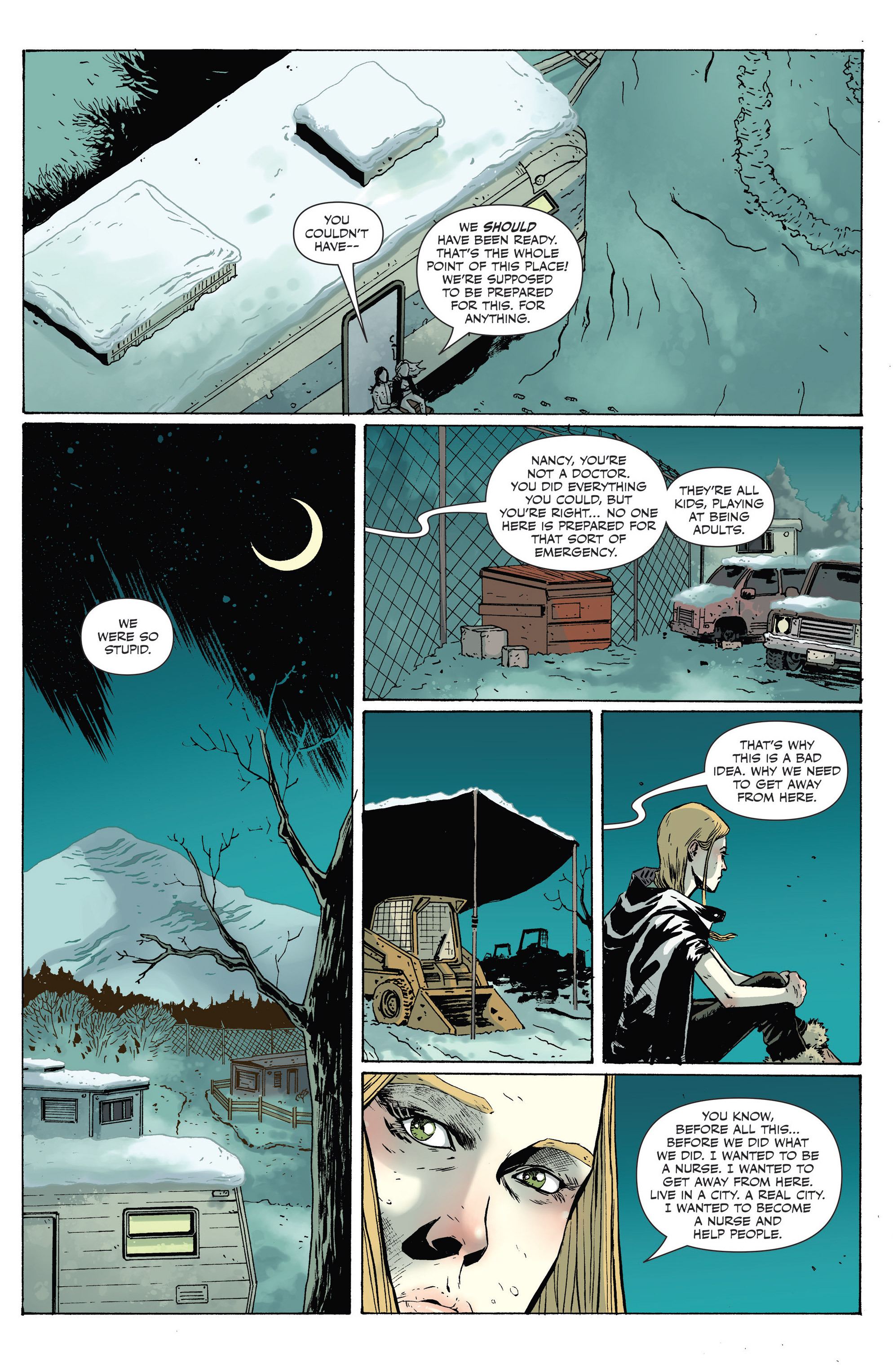 Read online Sheltered comic -  Issue #9 - 4