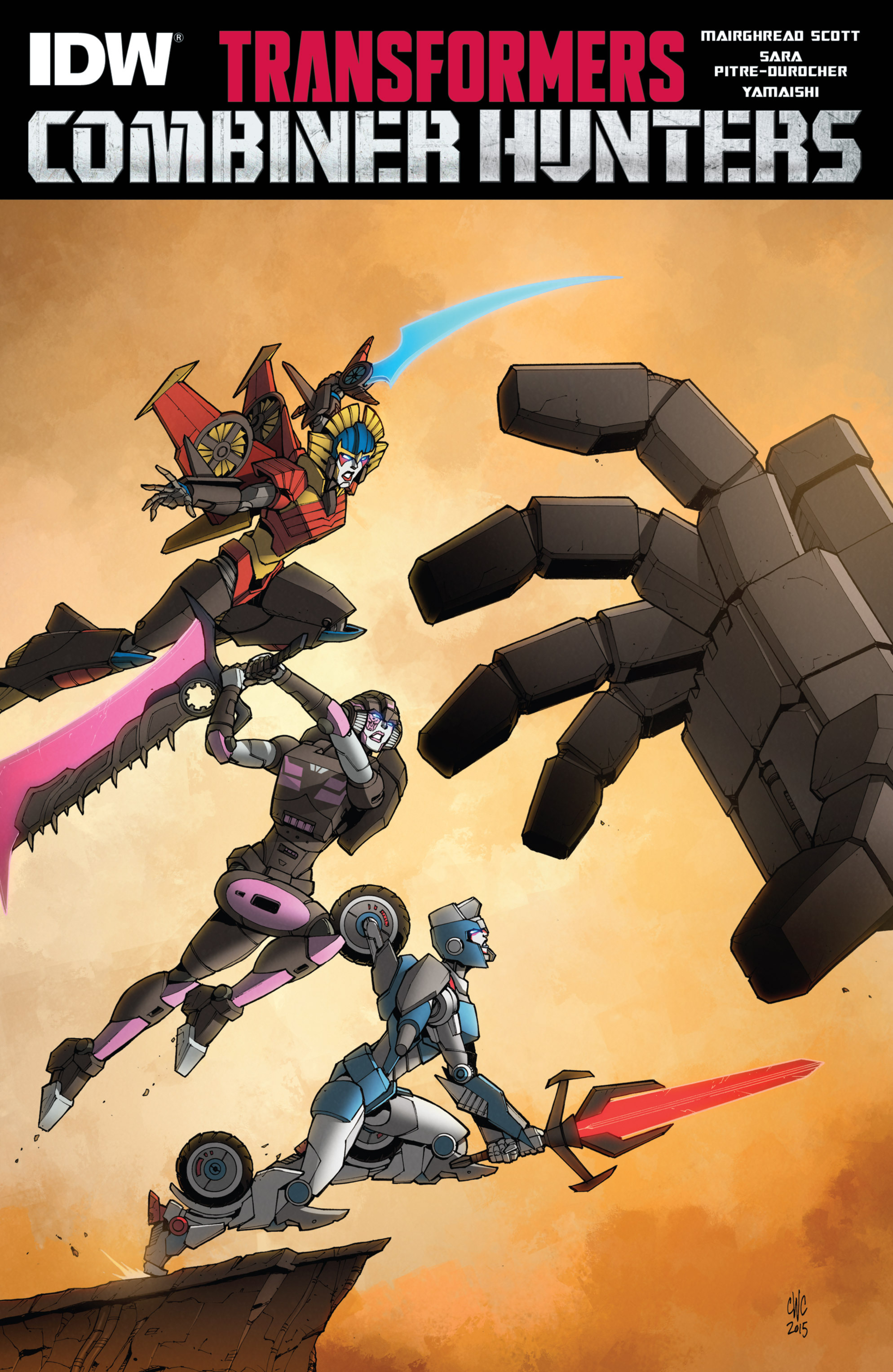 Read online Transformers: Combiner Hunters comic -  Issue # Full - 1