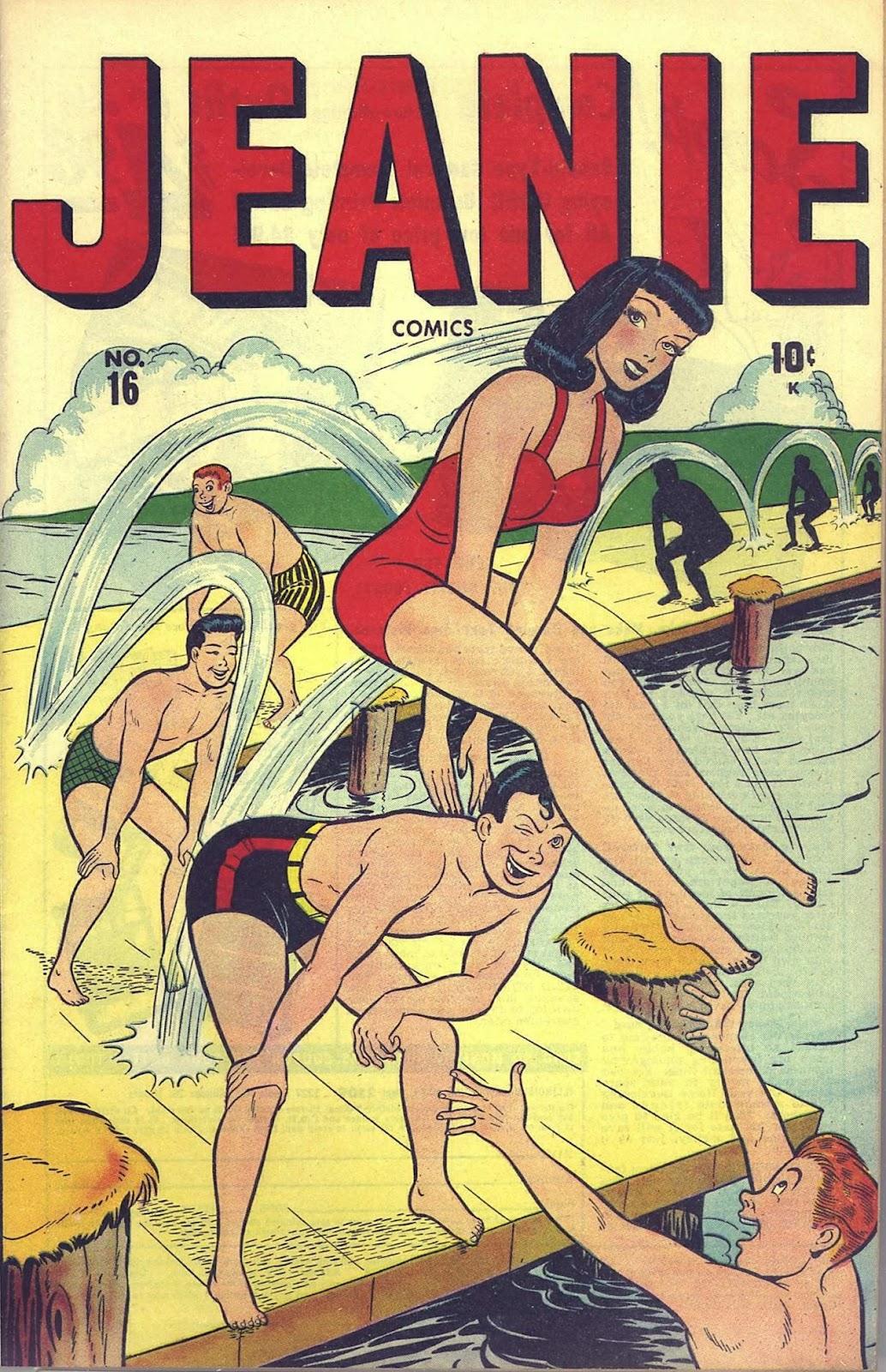 Jeanie Comics 16 Page 1