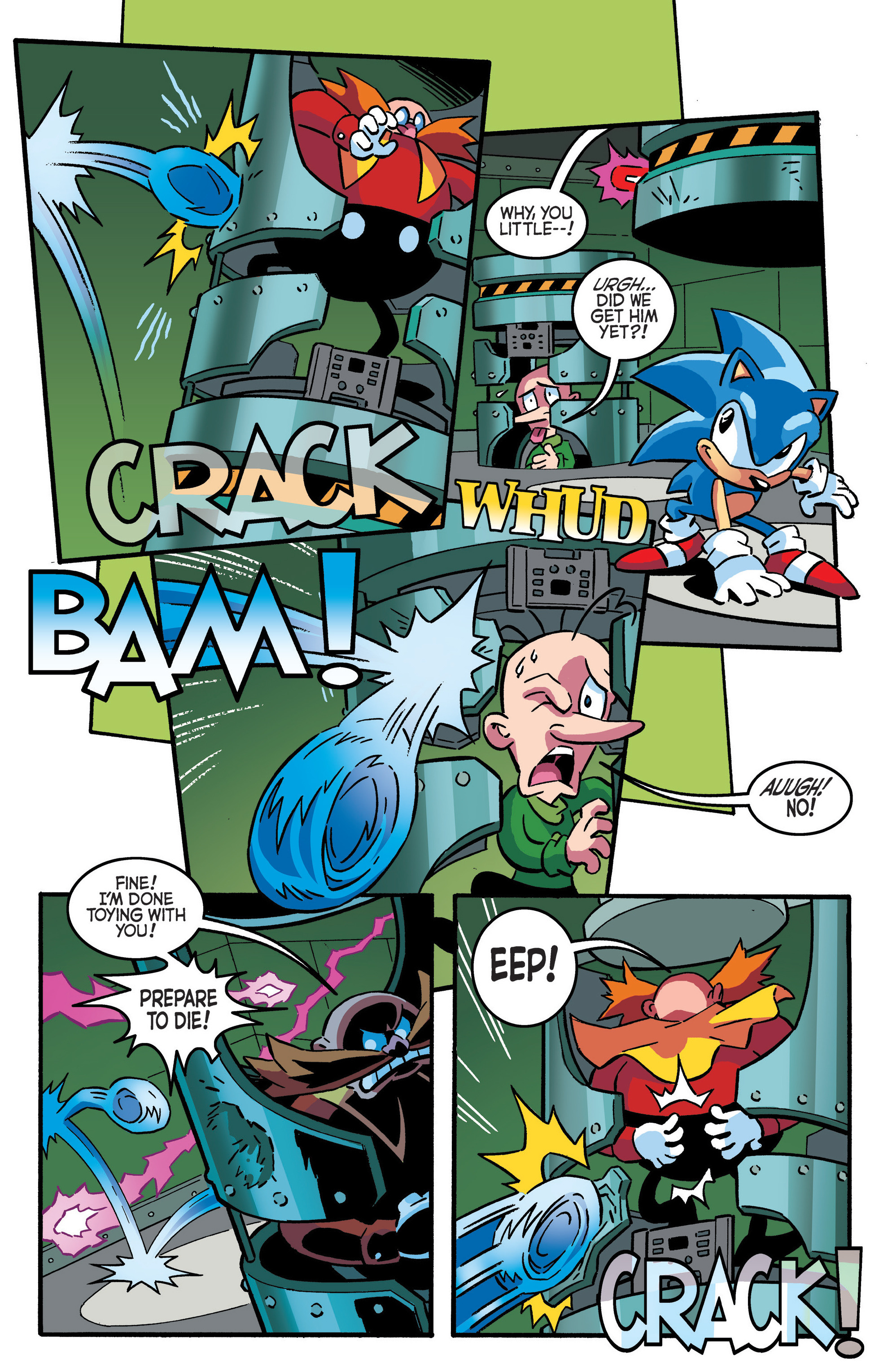 Read online Sonic The Hedgehog comic -  Issue #288 - 13