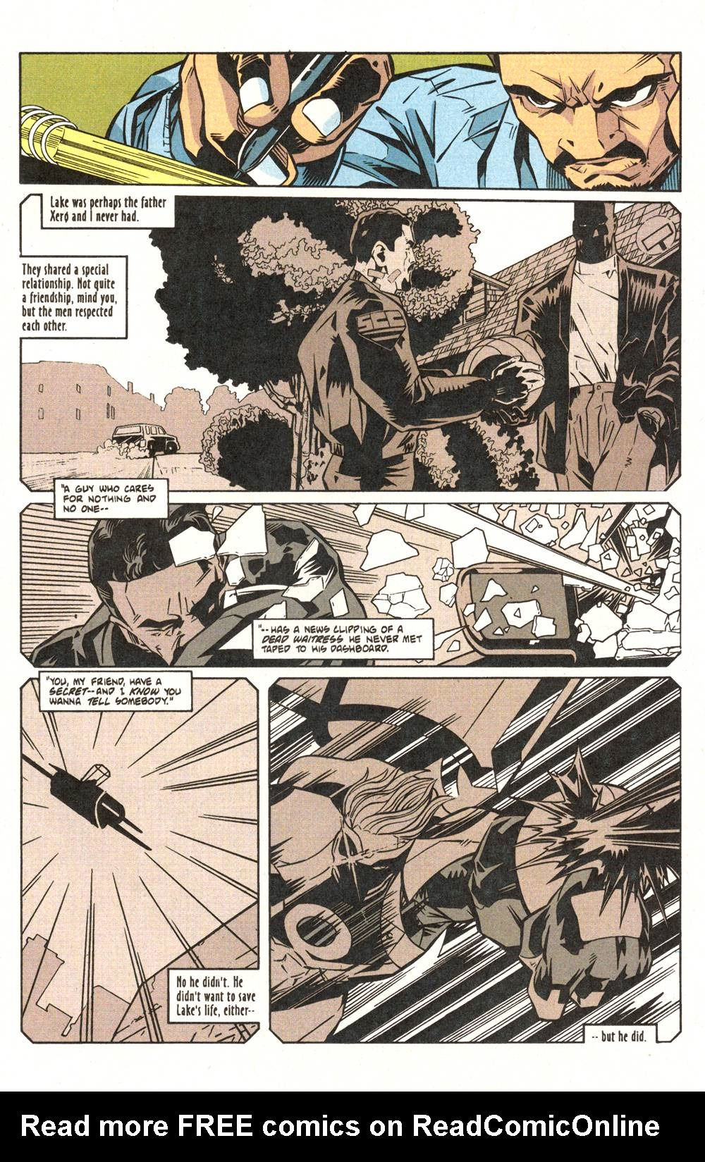 Read online Xero comic -  Issue #6 - 14