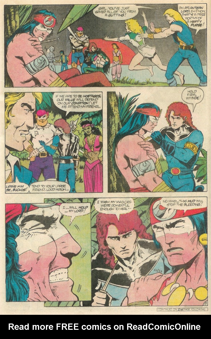 Read online Arion, Lord of Atlantis comic -  Issue #20 - 9
