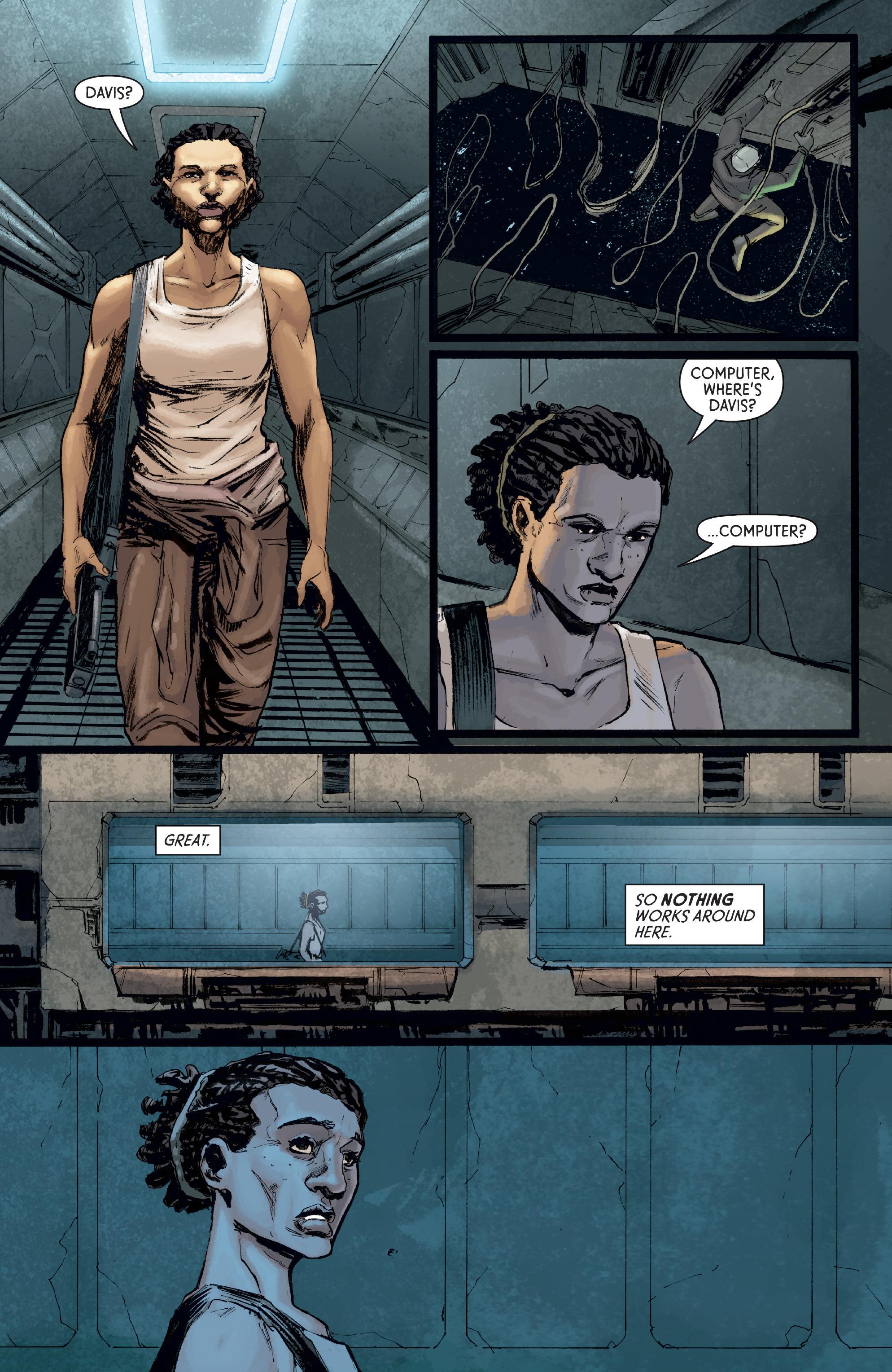 Read online Aliens: Defiance comic -  Issue #8 - 11