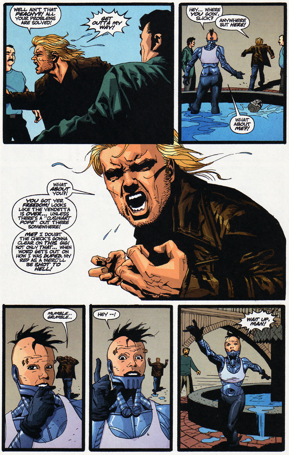Wildcats (1999) Issue #11 #12 - English 21