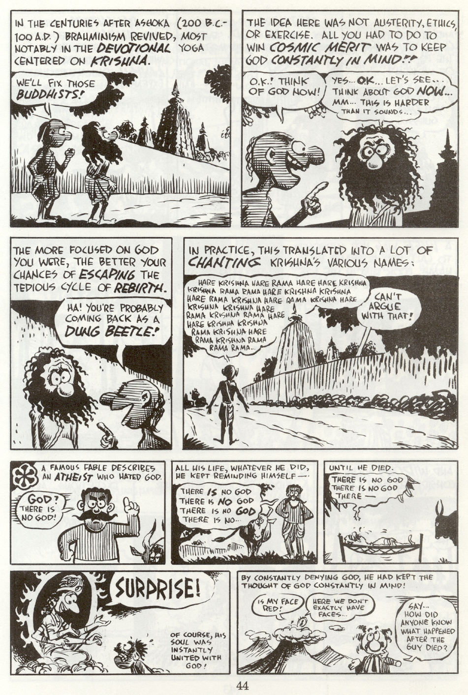 Read online The Cartoon History of the Universe comic -  Issue #8 - 47