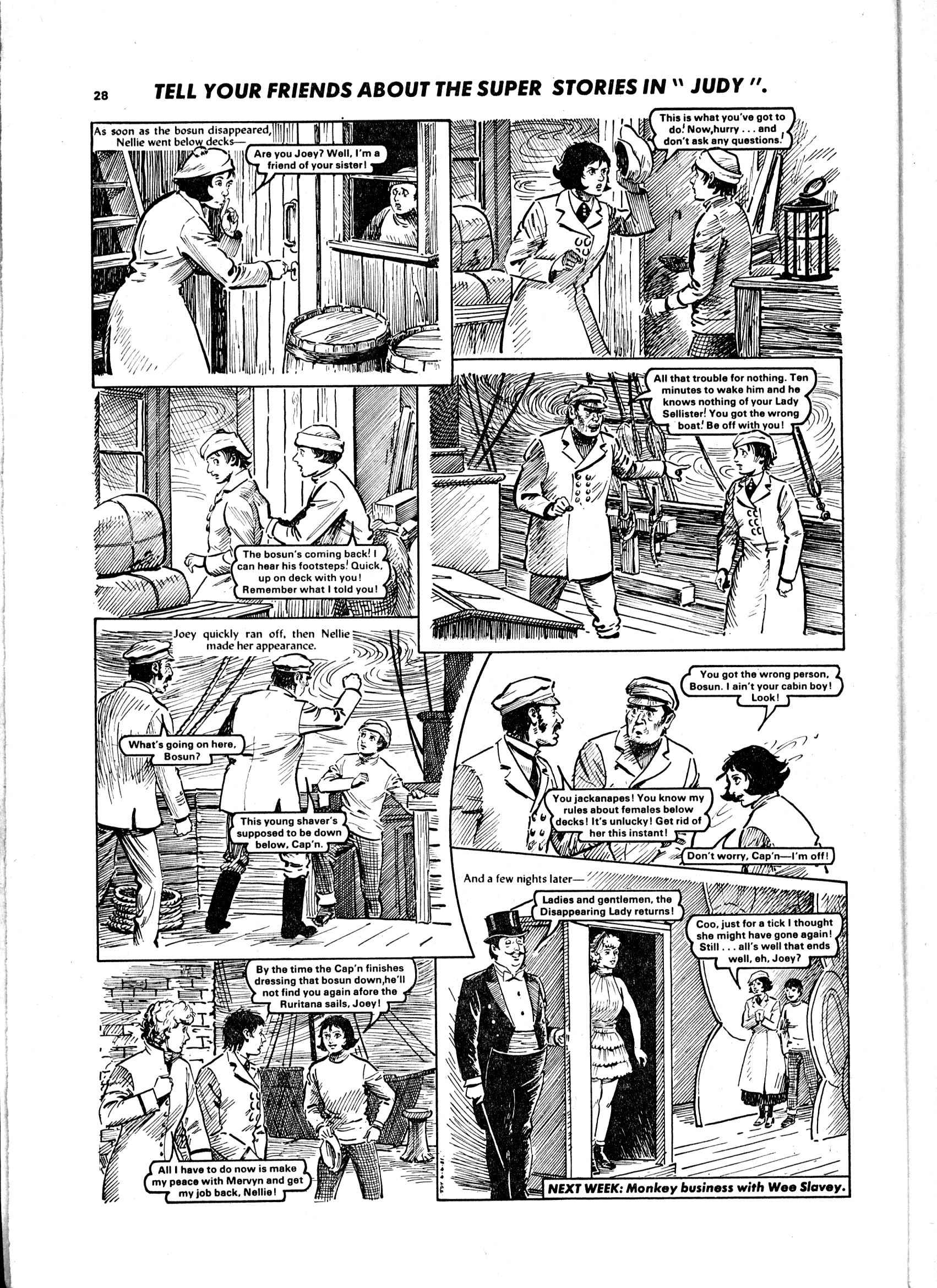Read online Judy comic -  Issue #1108 - 28