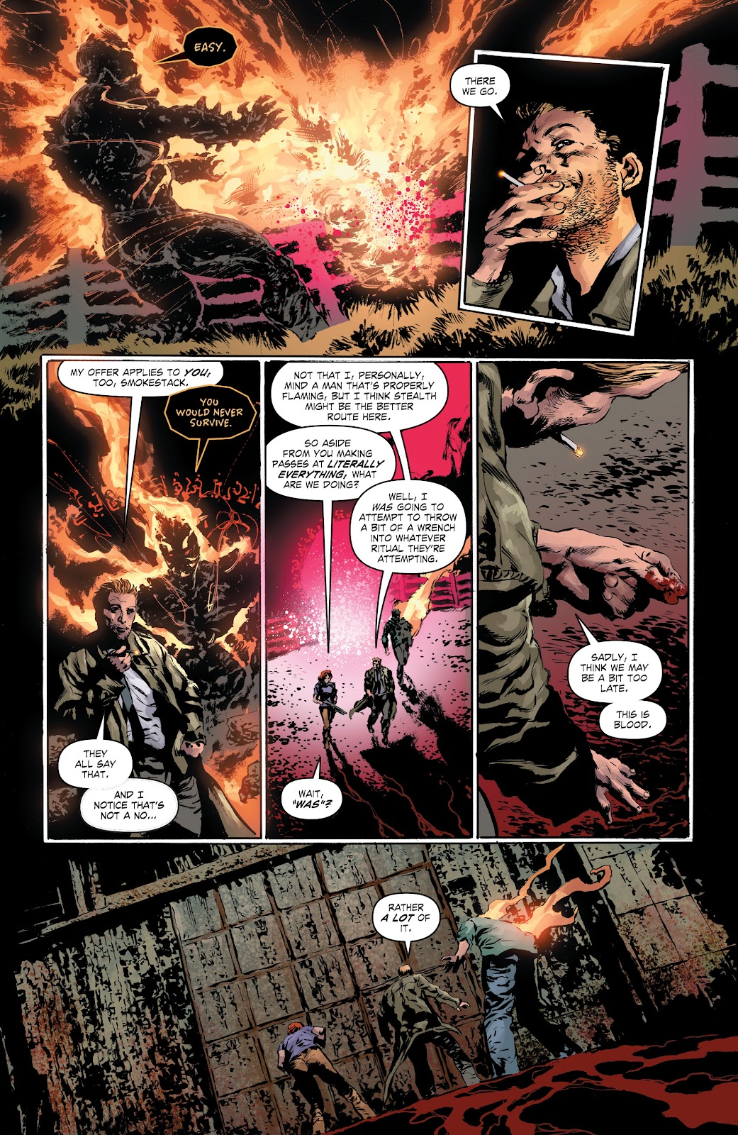 Read online The Curse of Brimstone: Ashes comic -  Issue # TPB (Part 1) - 14