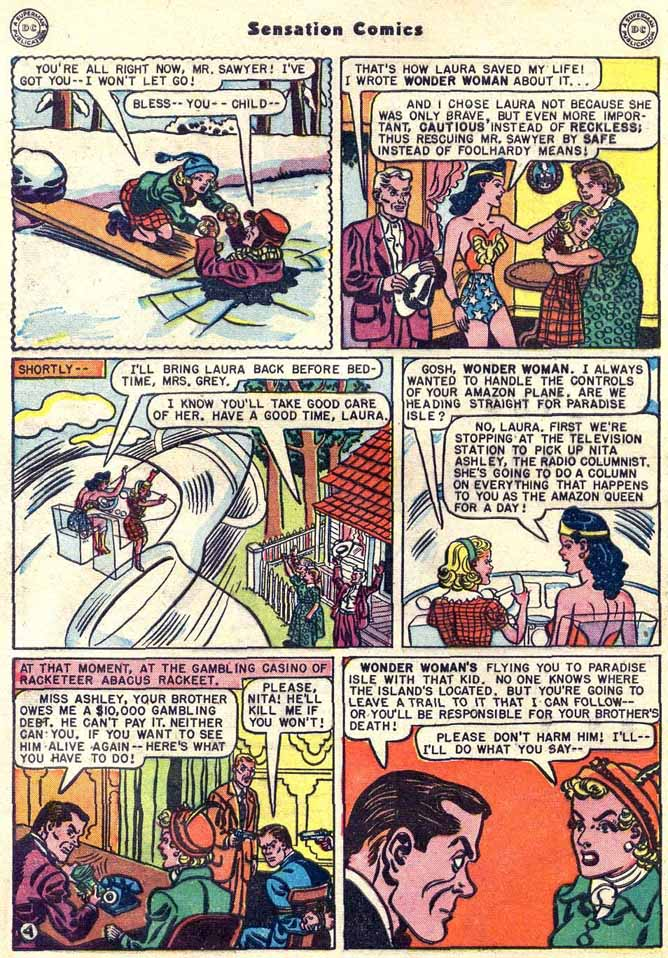 Read online Sensation (Mystery) Comics comic -  Issue #89 - 6