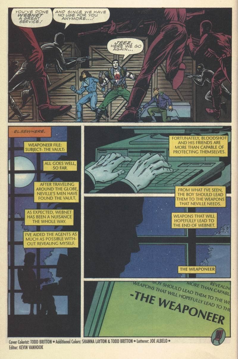 Read online Secret Weapons comic -  Issue #9 - 22