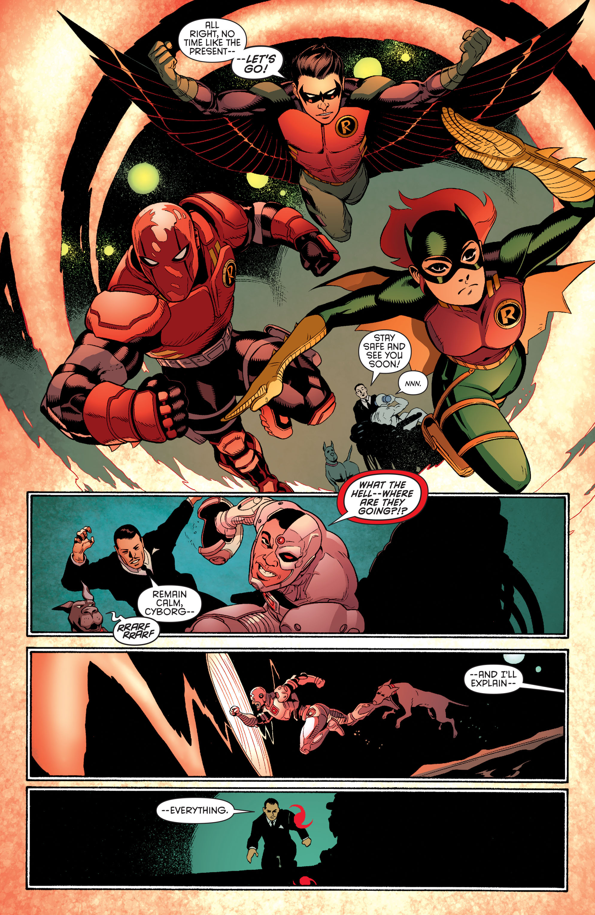 Read online Batman and Robin (2011) comic -  Issue #35 - 16
