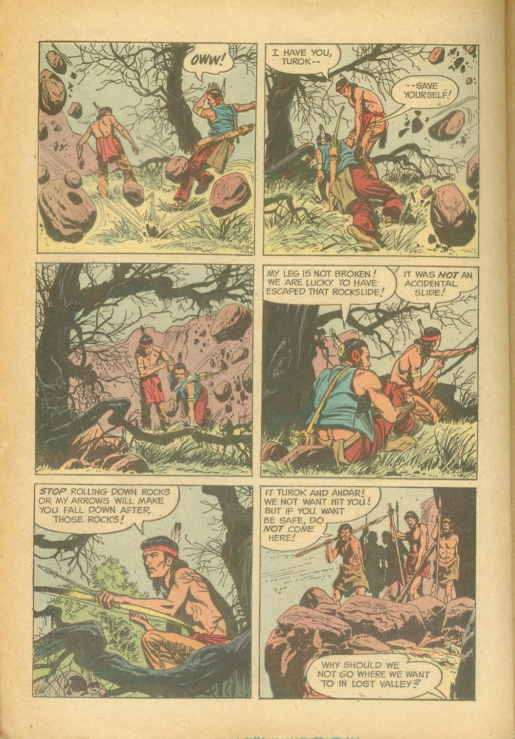 Read online Turok, Son of Stone comic -  Issue #24 - 26