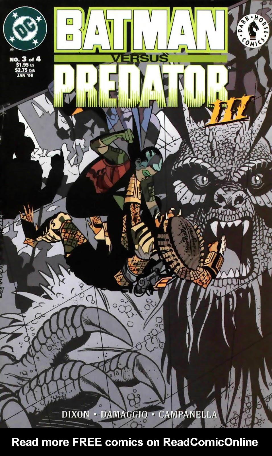 Batman/Predator III issue 3 - Page 1