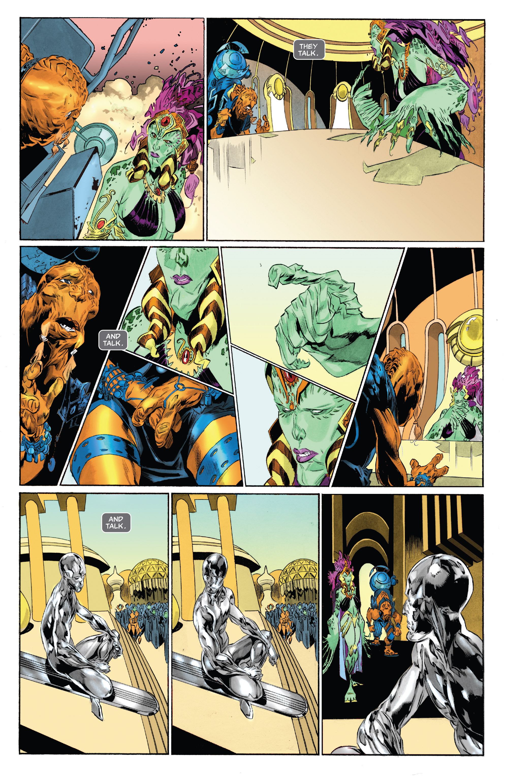 Read online Silver Surfer: In Thy Name comic -  Issue #4 - 6