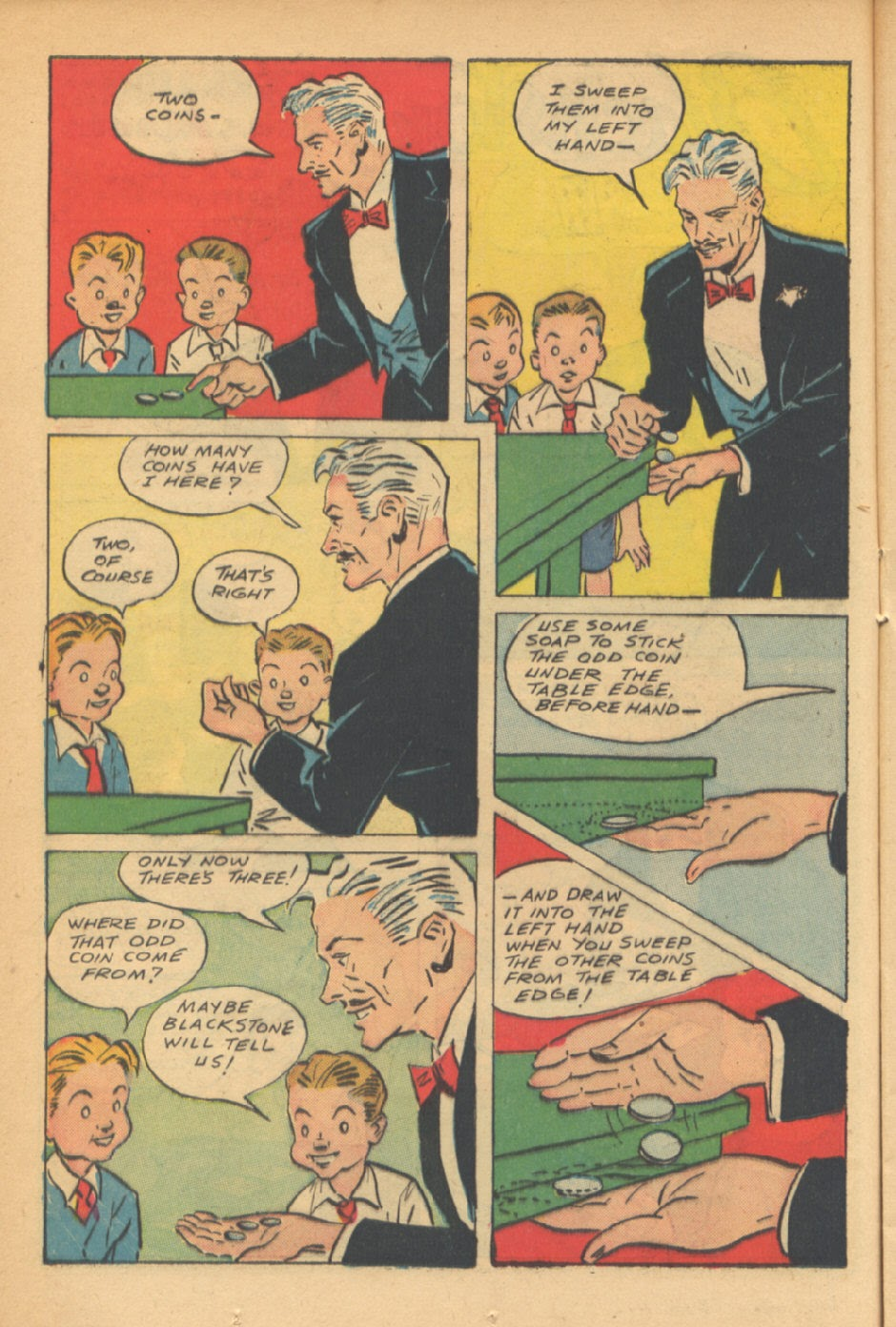 Read online Super-Magician Comics comic -  Issue #41 - 18