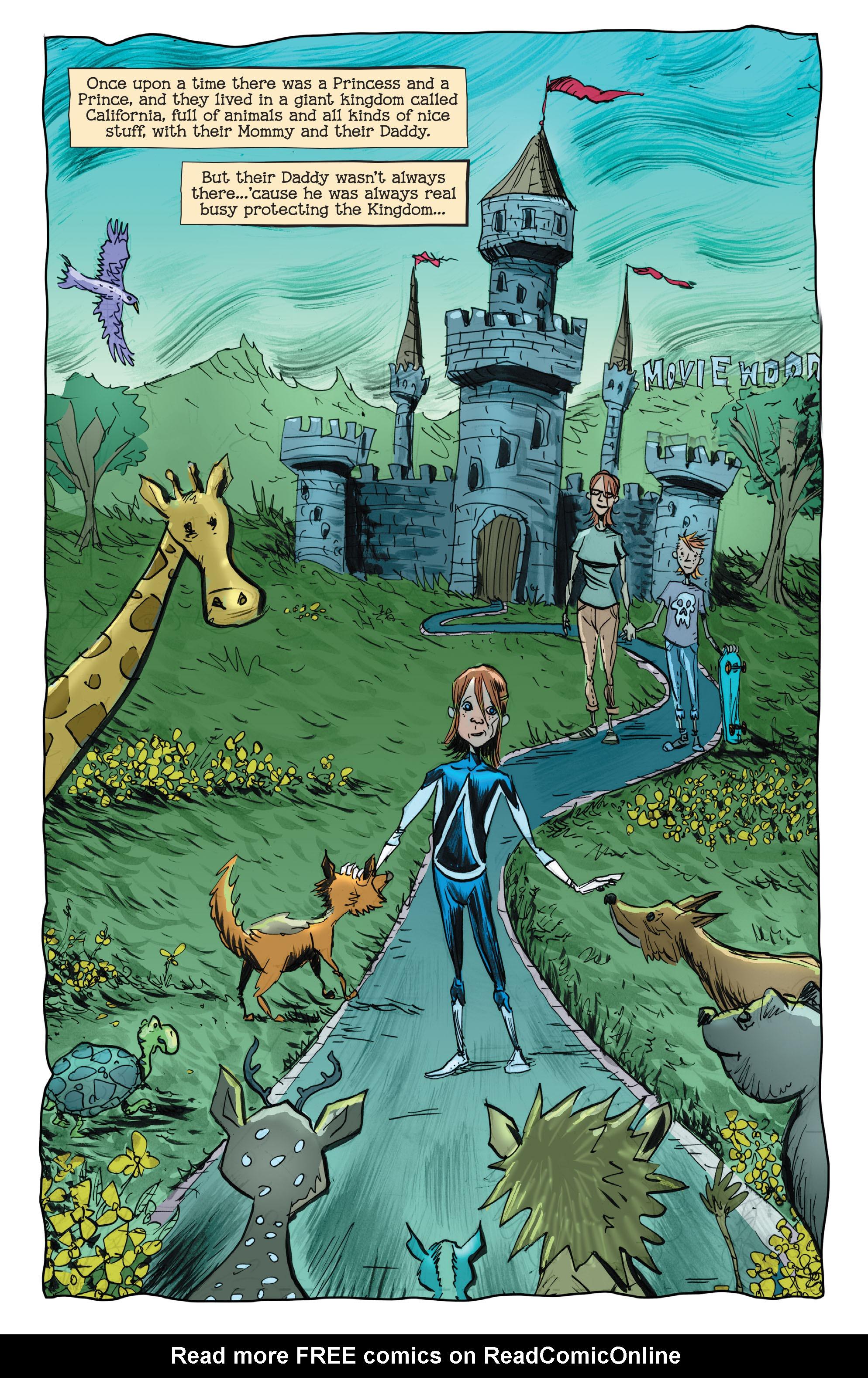 Read online Animal Man (2011) comic -  Issue #29 - 8