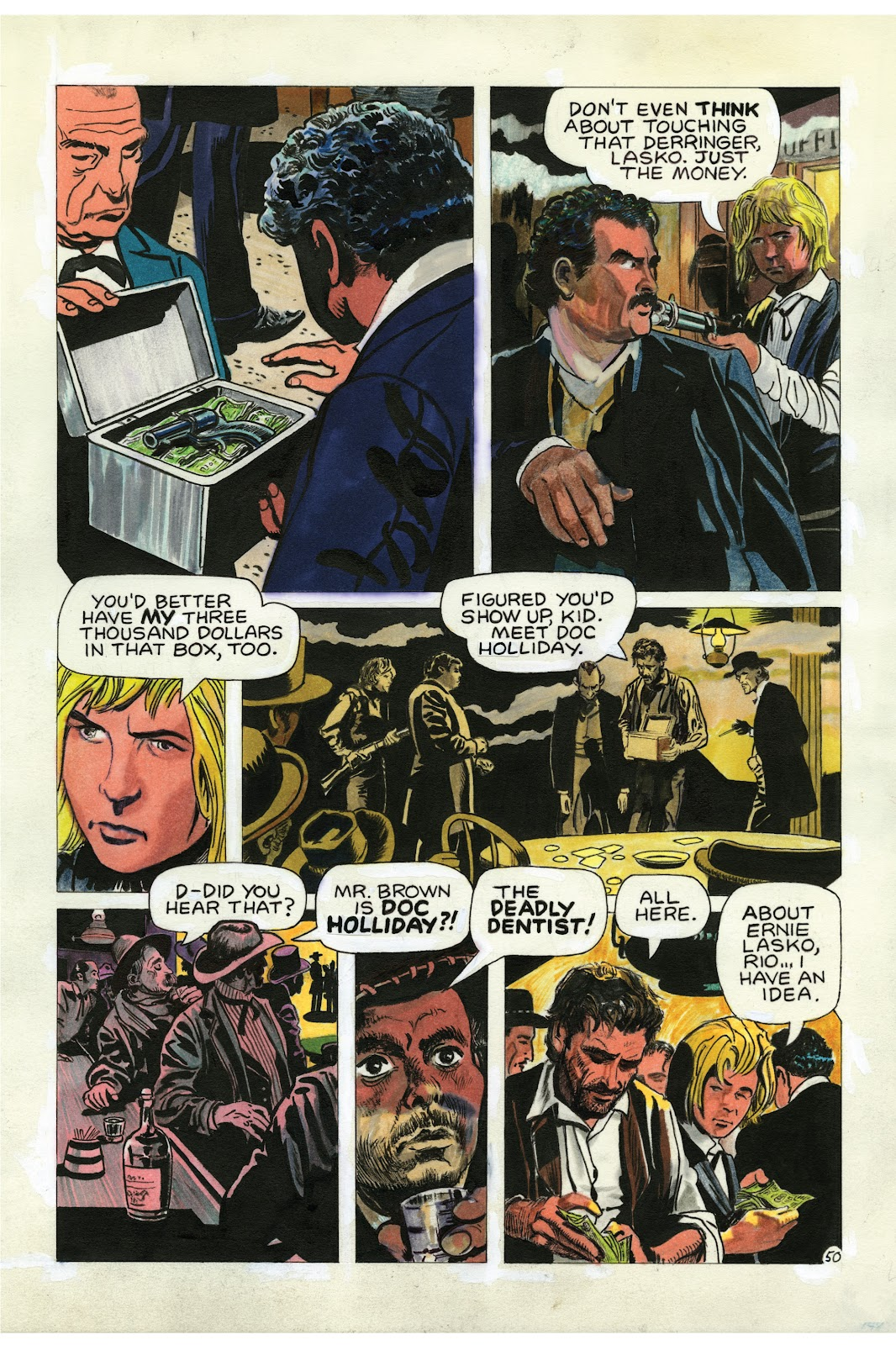 Read online Doug Wildey's Rio: The Complete Saga comic -  Issue # TPB (Part 2) - 85