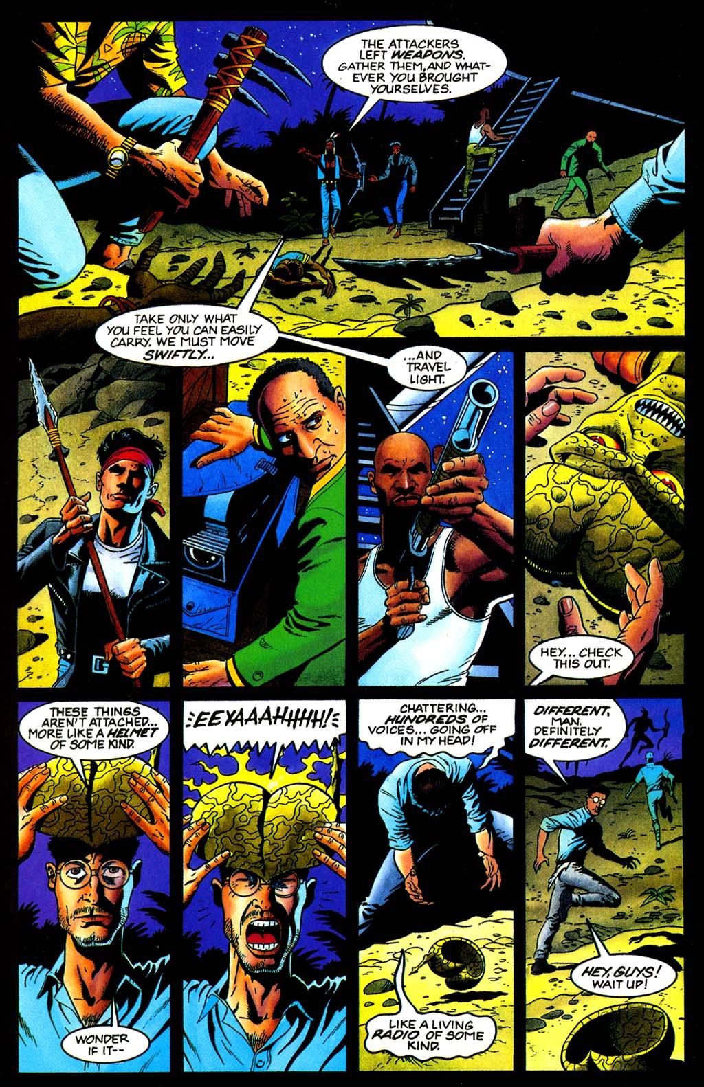 Read online Turok, Dinosaur Hunter (1993) comic -  Issue #32 - 16