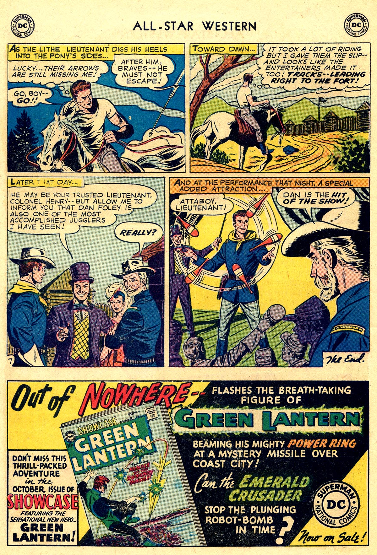 Read online All-Star Western (1951) comic -  Issue #109 - 22