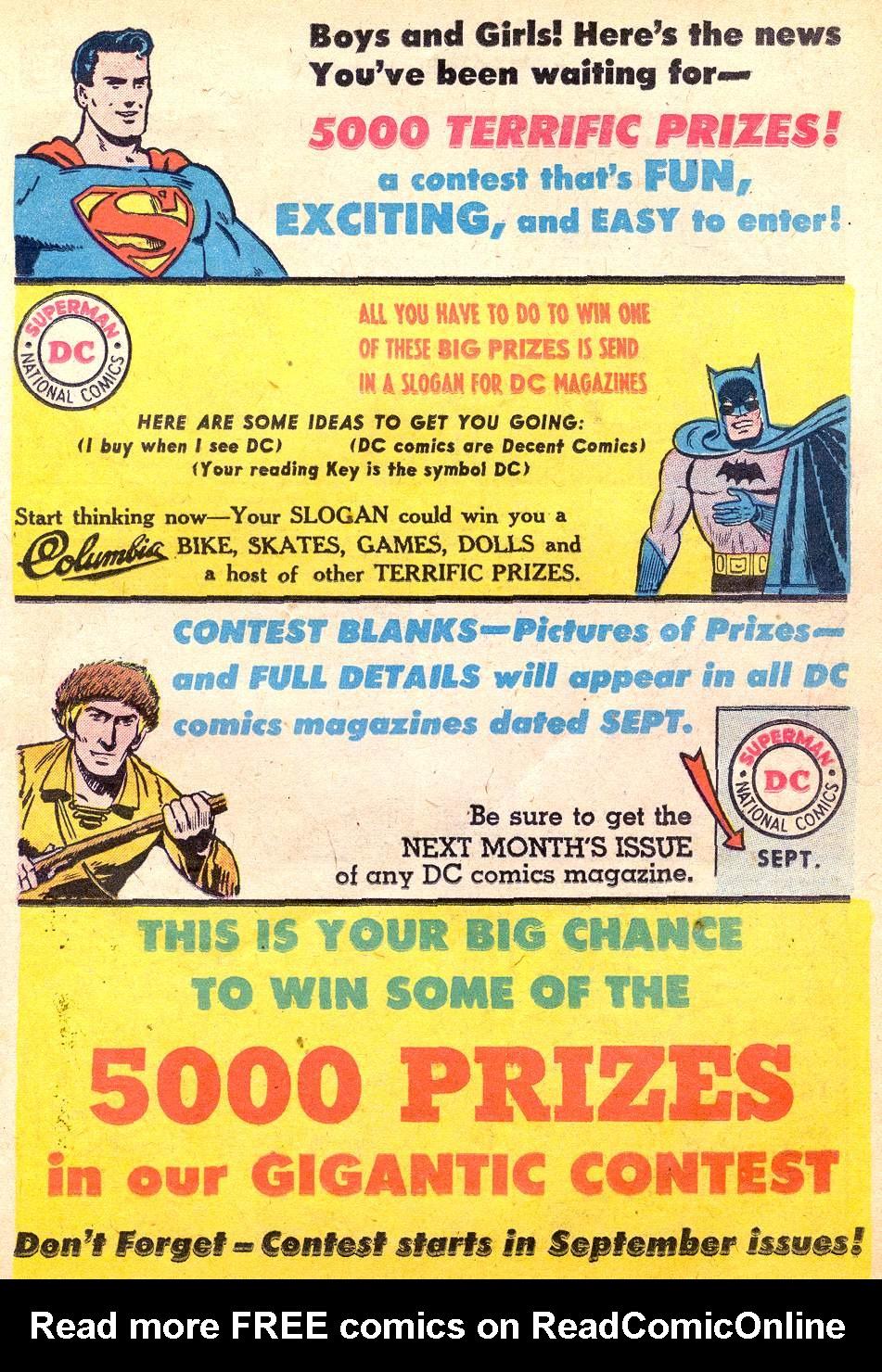Read online Adventure Comics (1938) comic -  Issue #227 - 23