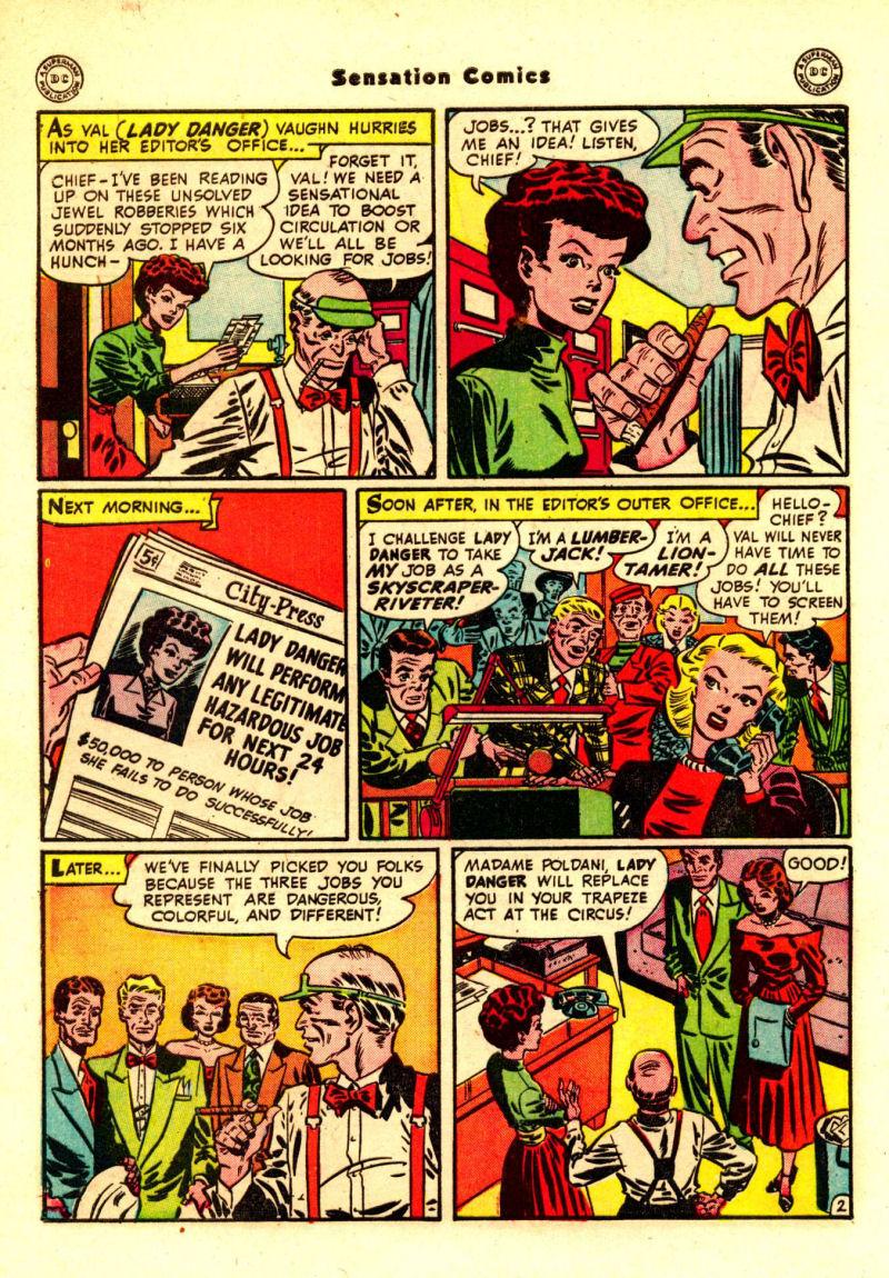 Read online Sensation (Mystery) Comics comic -  Issue #88 - 41