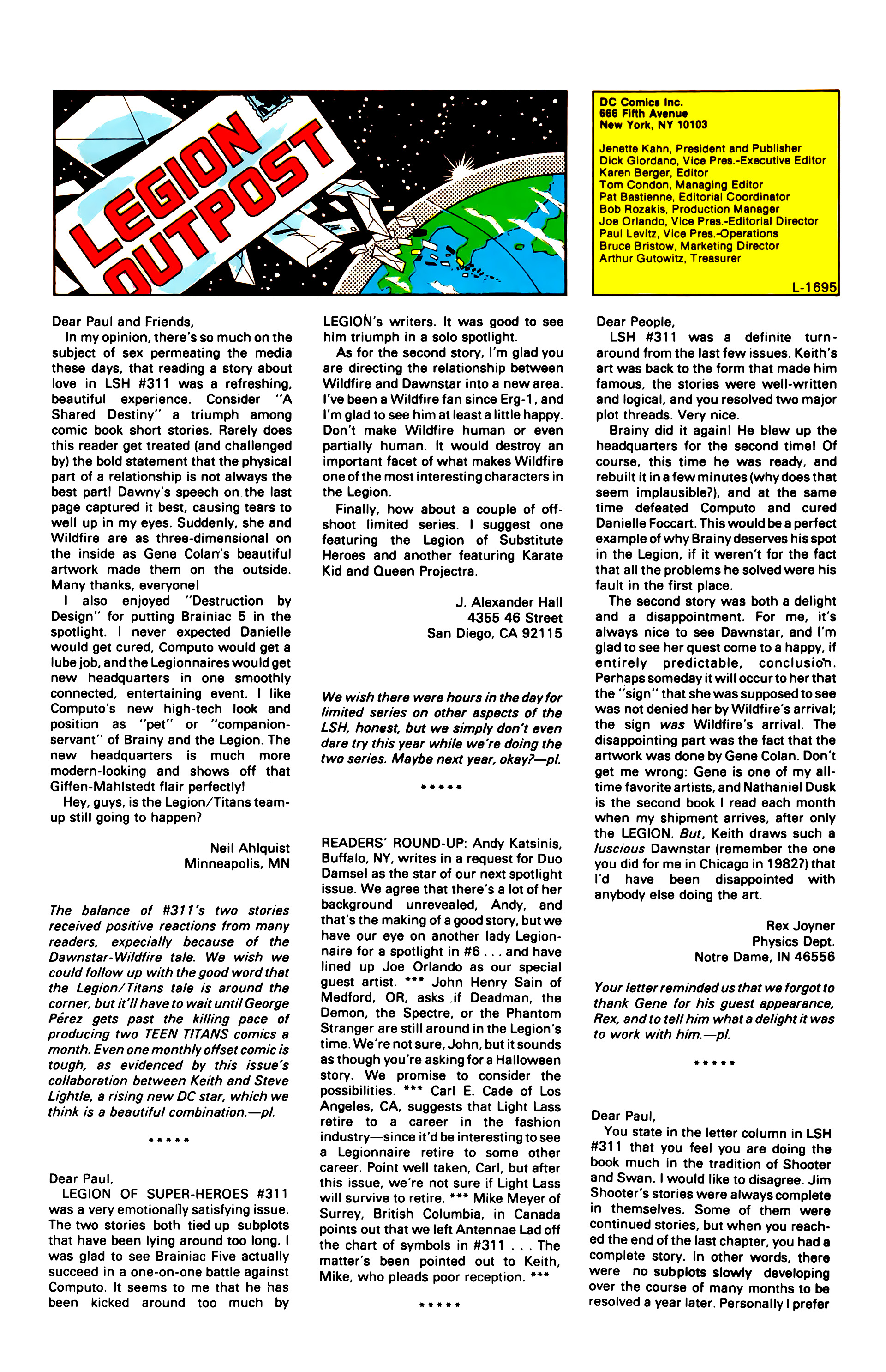 Legion of Super-Heroes (1984) 3 Page 25