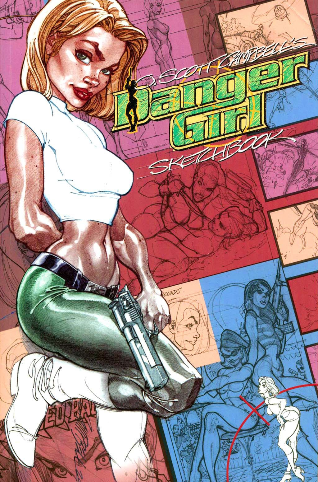 J. Scott Campbells Danger Girl Sketchbook issue Full - Page 1