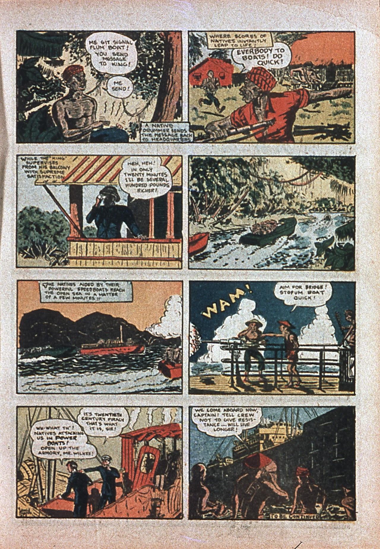 Read online Amazing Man Comics comic -  Issue #7 - 20