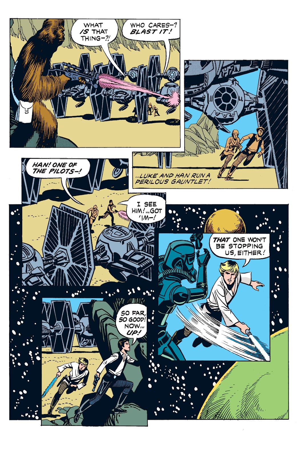Read online Star Wars Legends: The Newspaper Strips - Epic Collection comic -  Issue # TPB (Part 3) - 18
