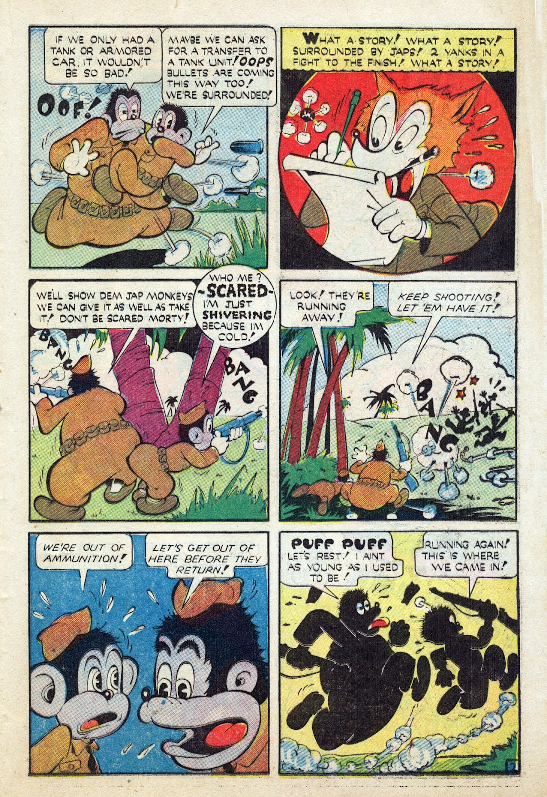 Read online Comedy Comics (1942) comic -  Issue #24 - 34