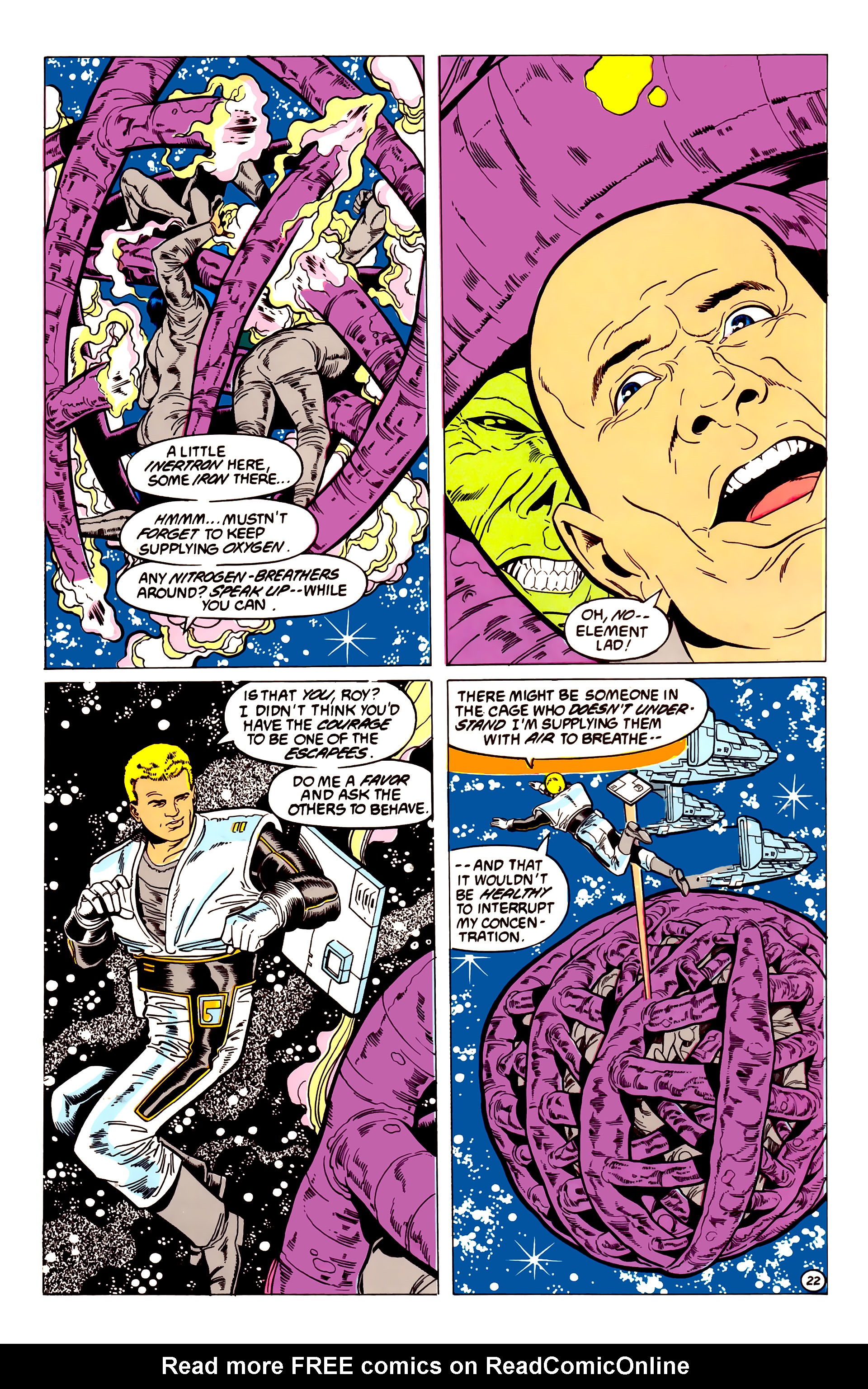 Legion of Super-Heroes (1984) 54 Page 22