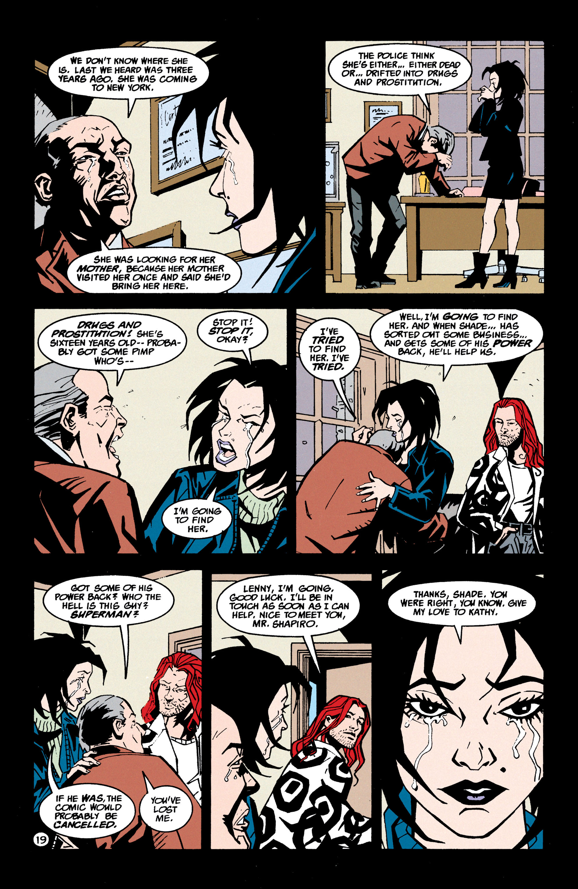 Read online Shade, the Changing Man comic -  Issue #70 - 20