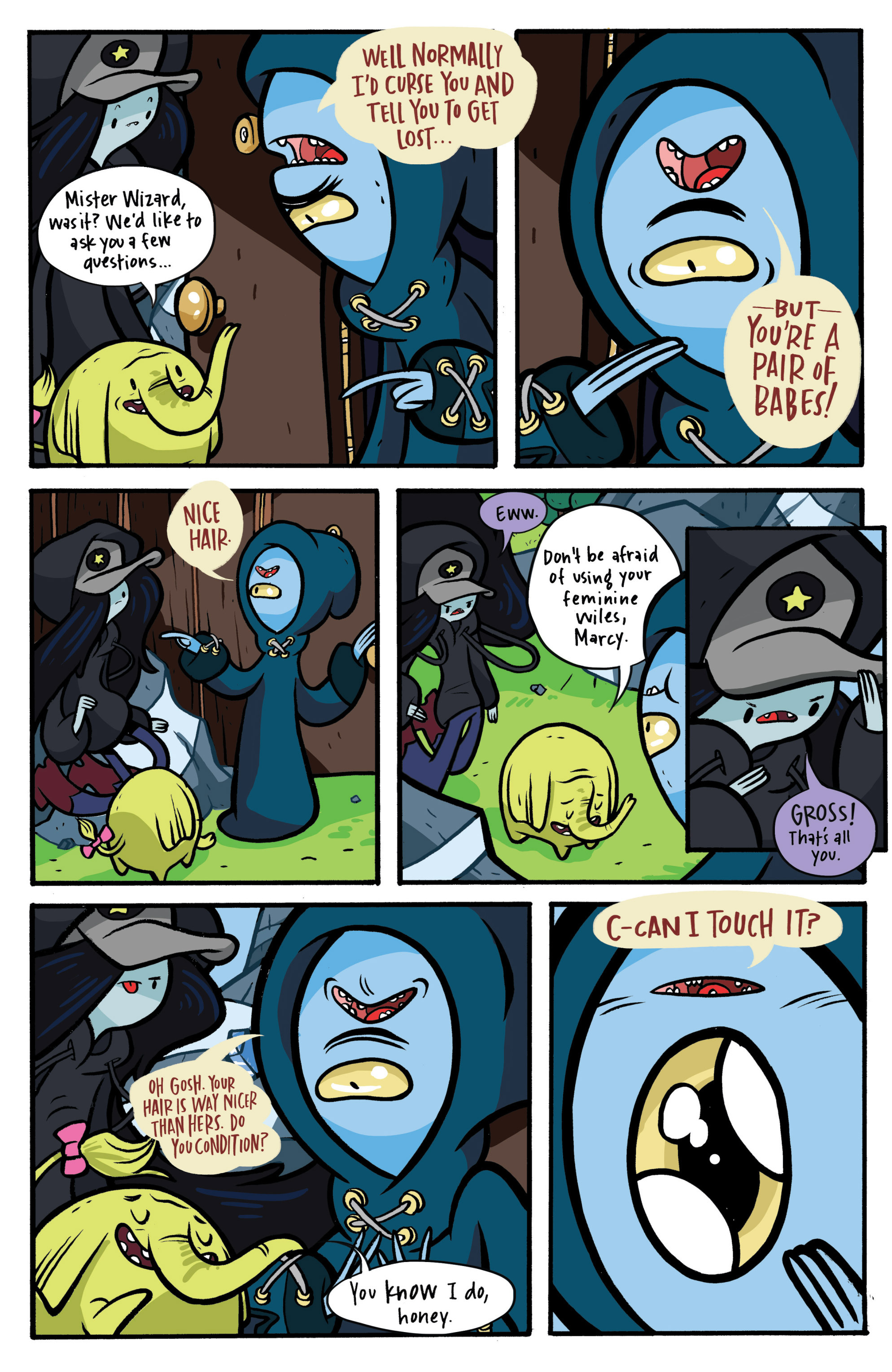 Read online Adventure Time: Candy Capers comic -  Issue #2 - 18
