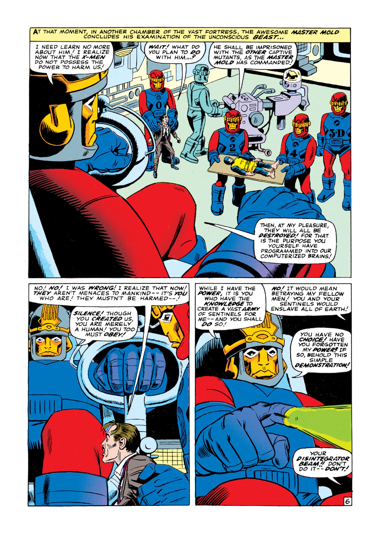 Read online Uncanny X-Men (1963) comic -  Issue #16 - 7