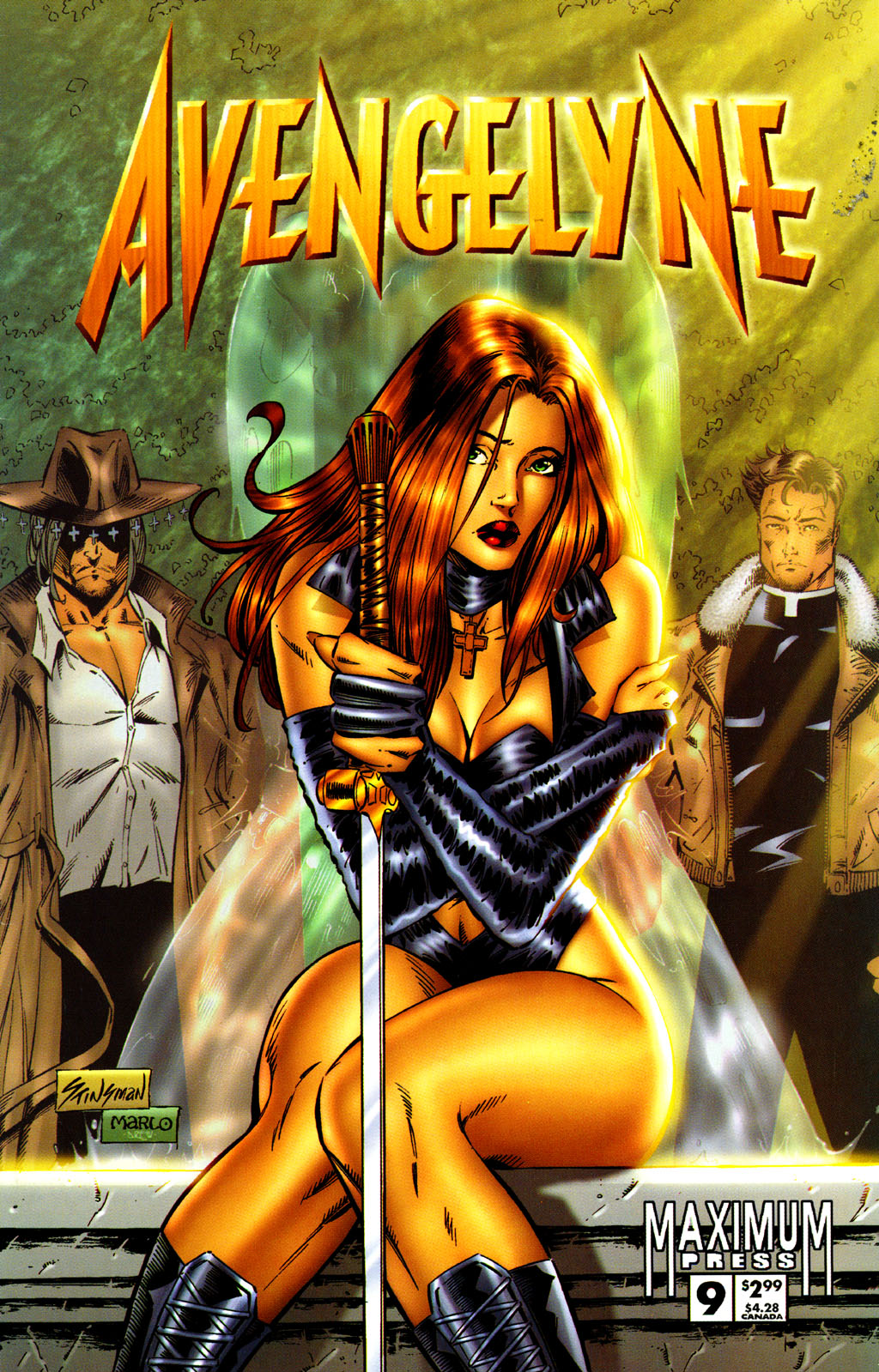 Read online Avengelyne (1996) comic -  Issue #9 - 1