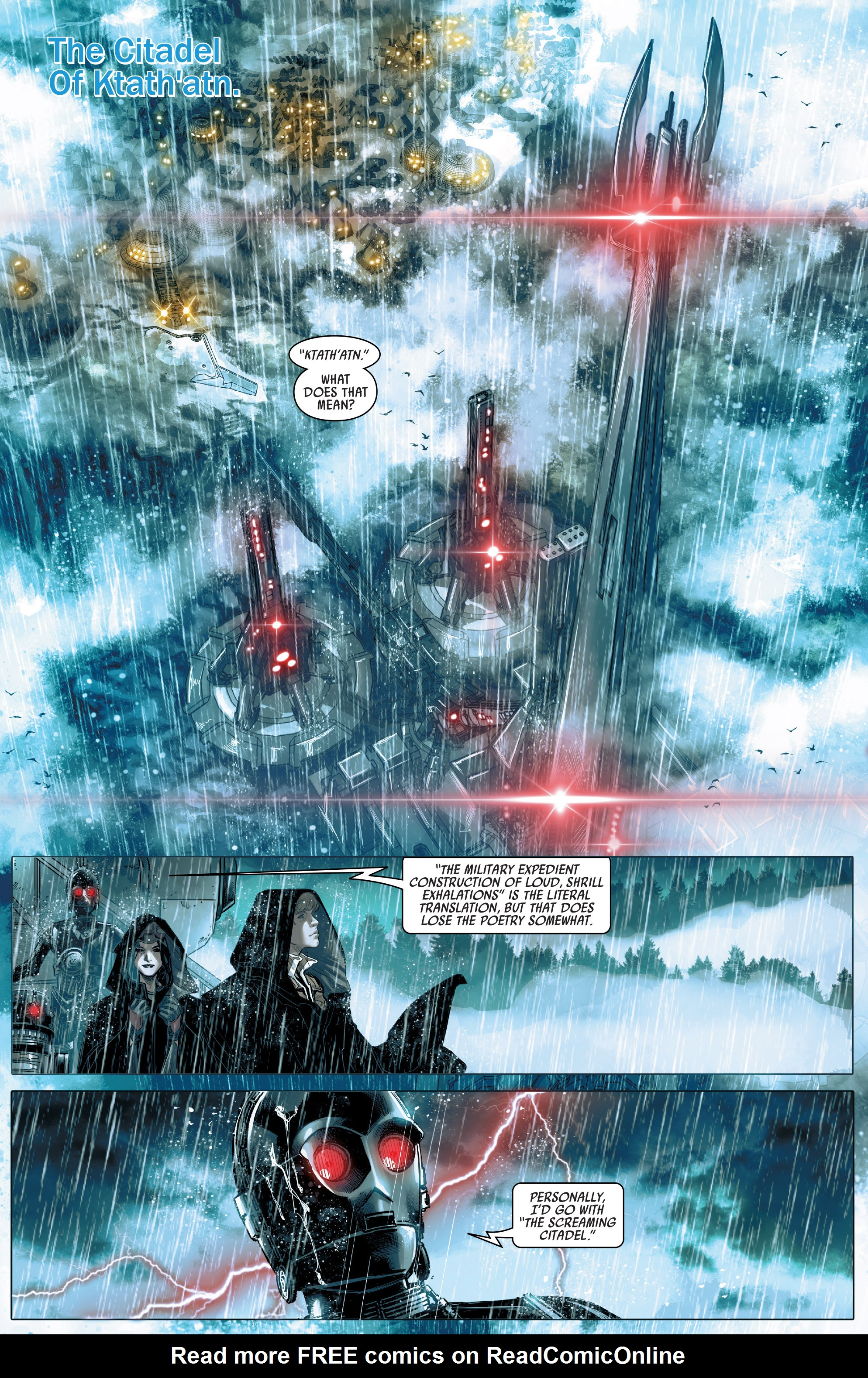 Read online Star Wars: The Screaming Citadel comic -  Issue # Full - 15