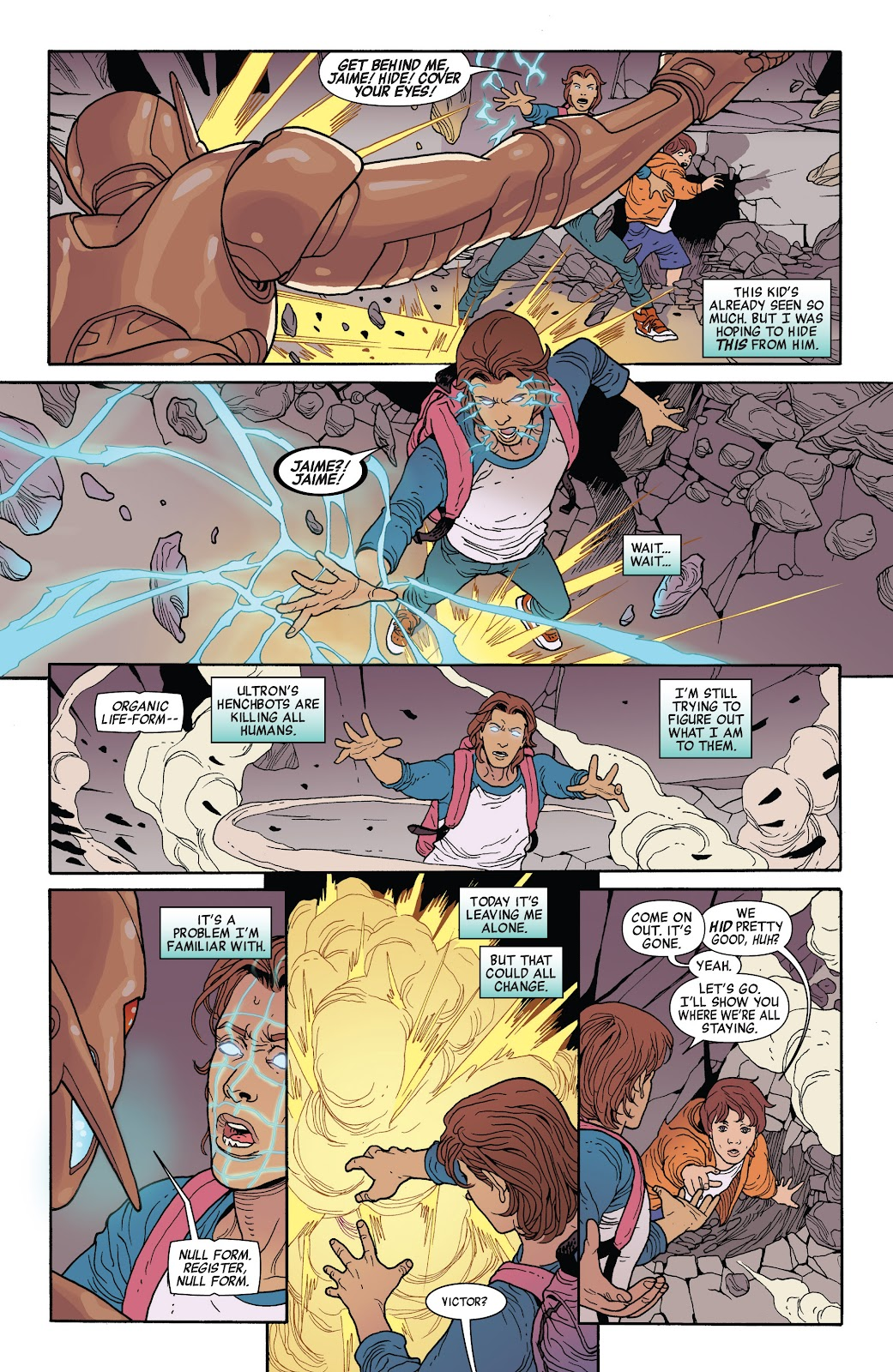 Read online Age of Ultron Companion comic -  Issue # TPB (Part 1) - 98